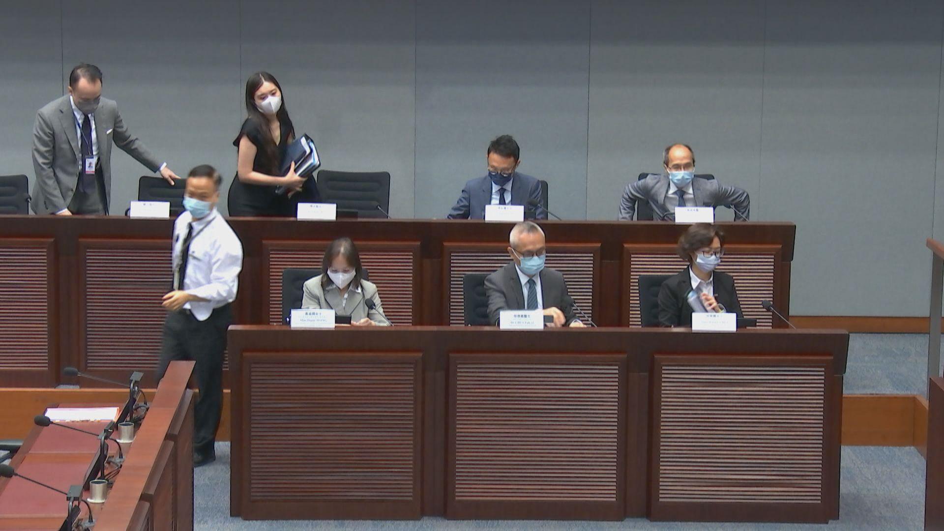 徐德義:回港易計劃是由政制及內地事務局統籌