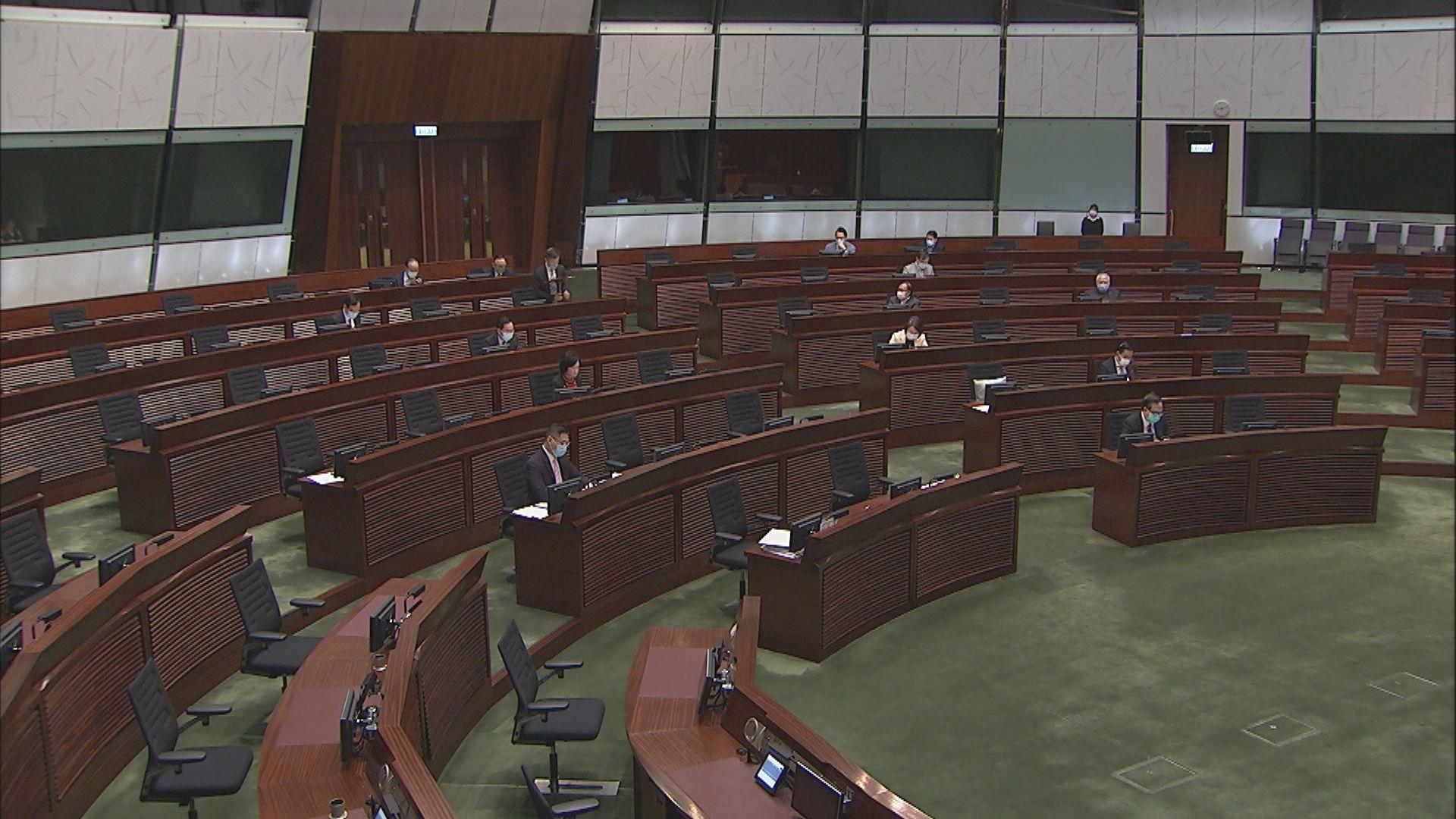 立法會修改議事規則 行爲不檢議員或被暫停職務