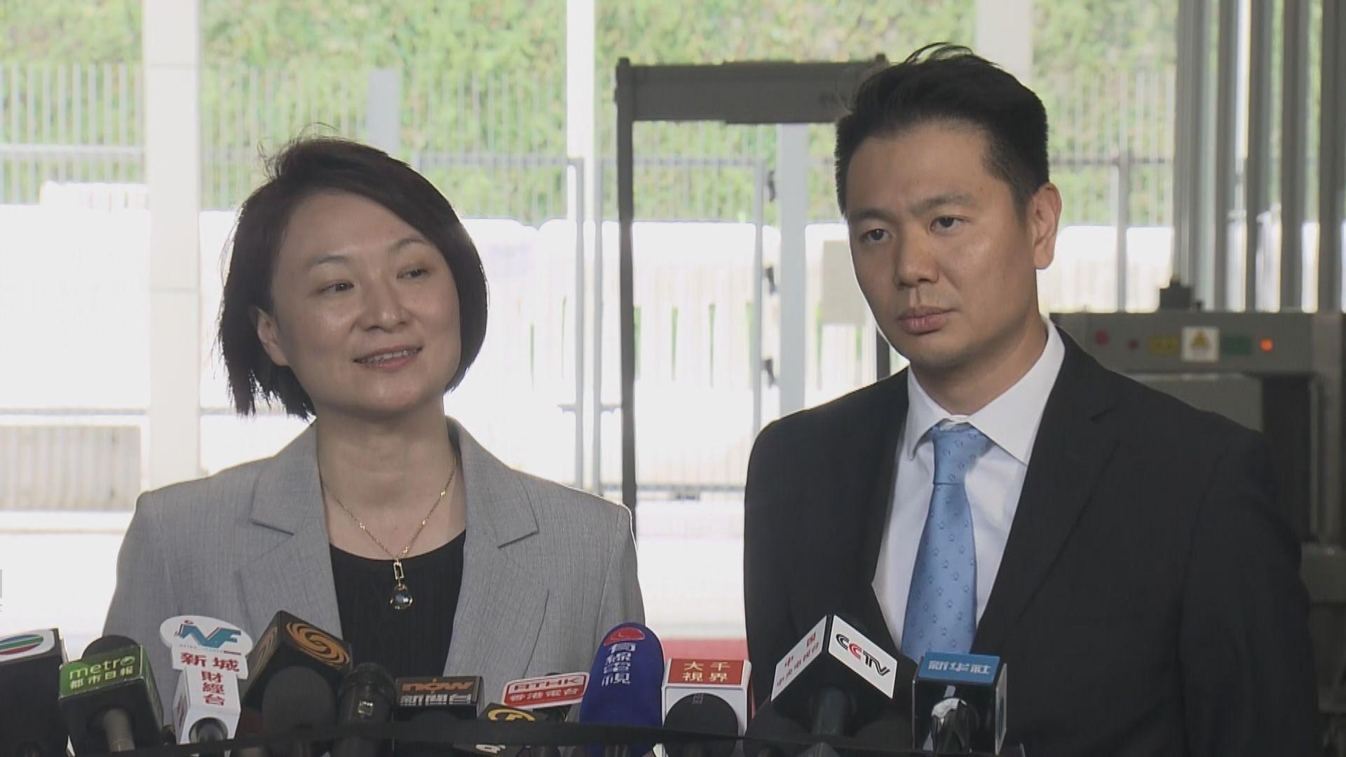 李慧琼:若法案通過不應排除中央有回應措施