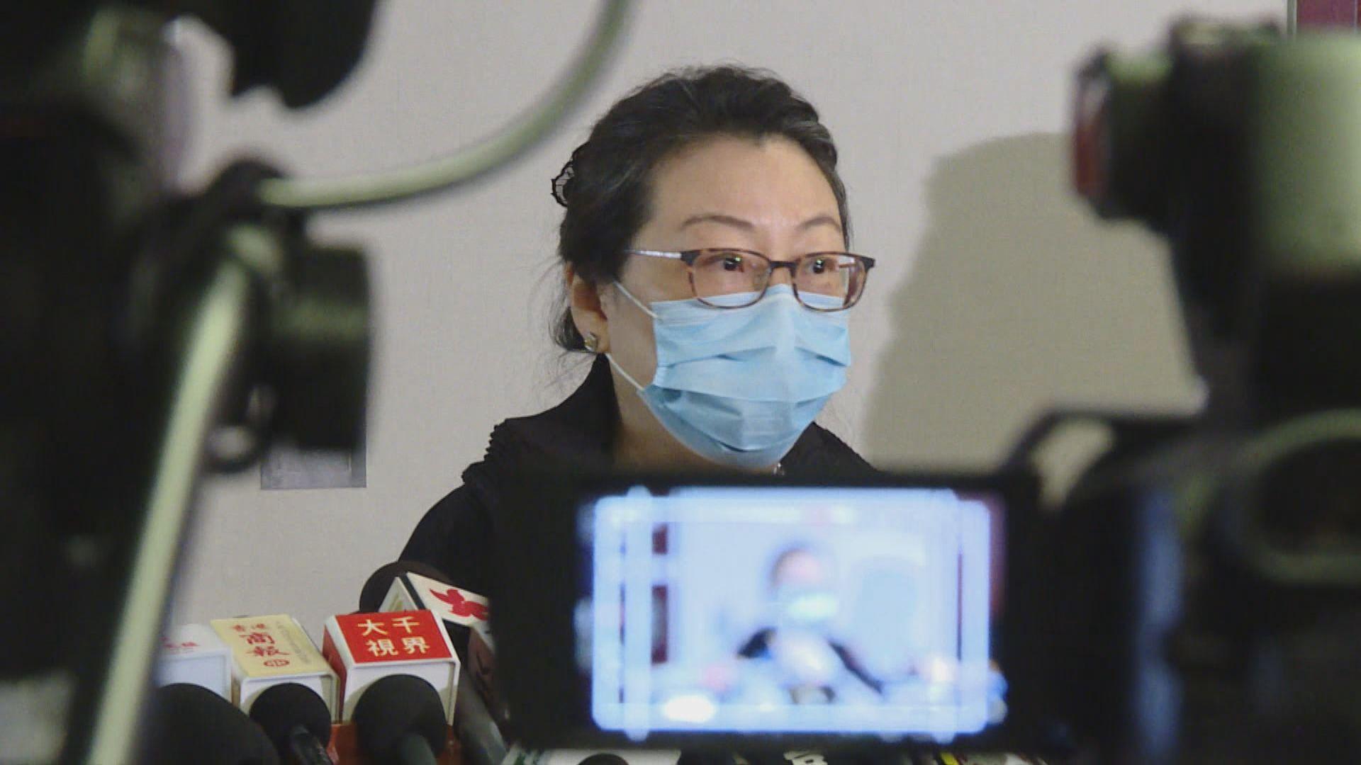 鄭若驊不評論陳淑莊被指違反「限聚令」事件