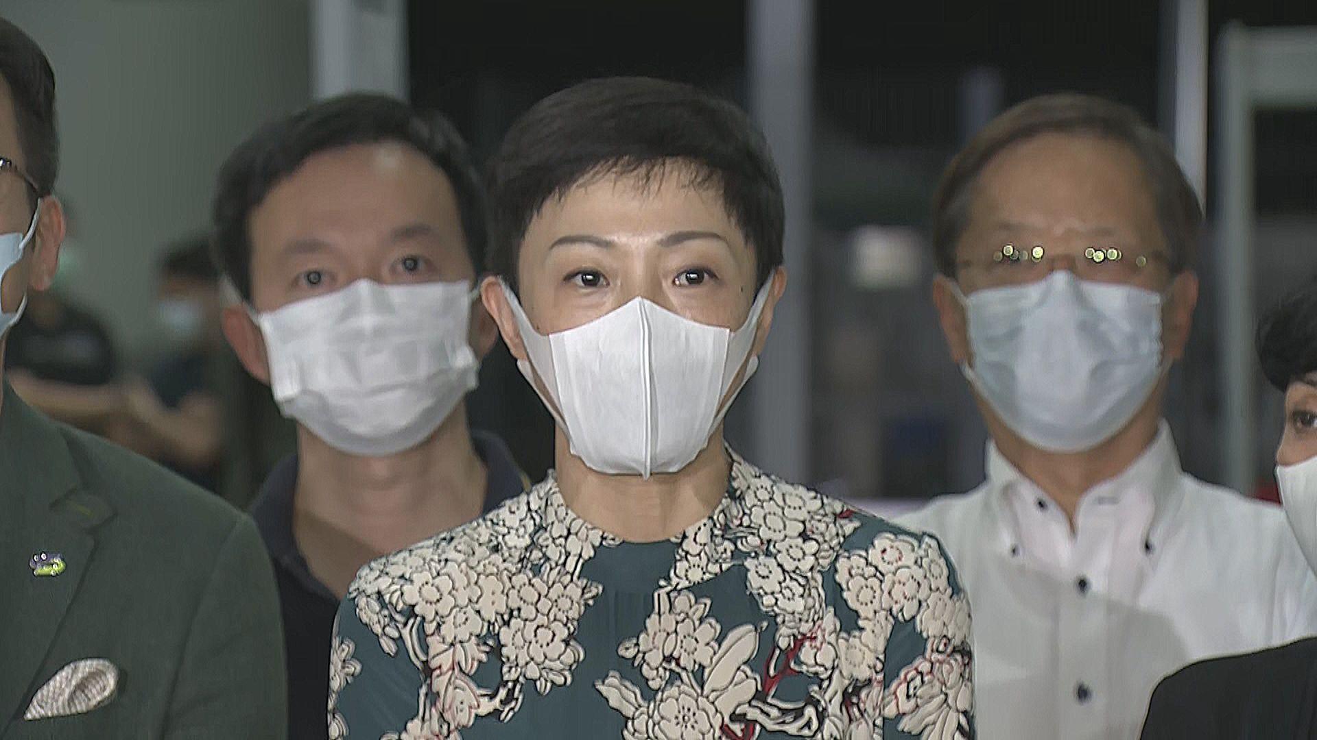 陳淑莊:覺得一國一制正式在香港落實