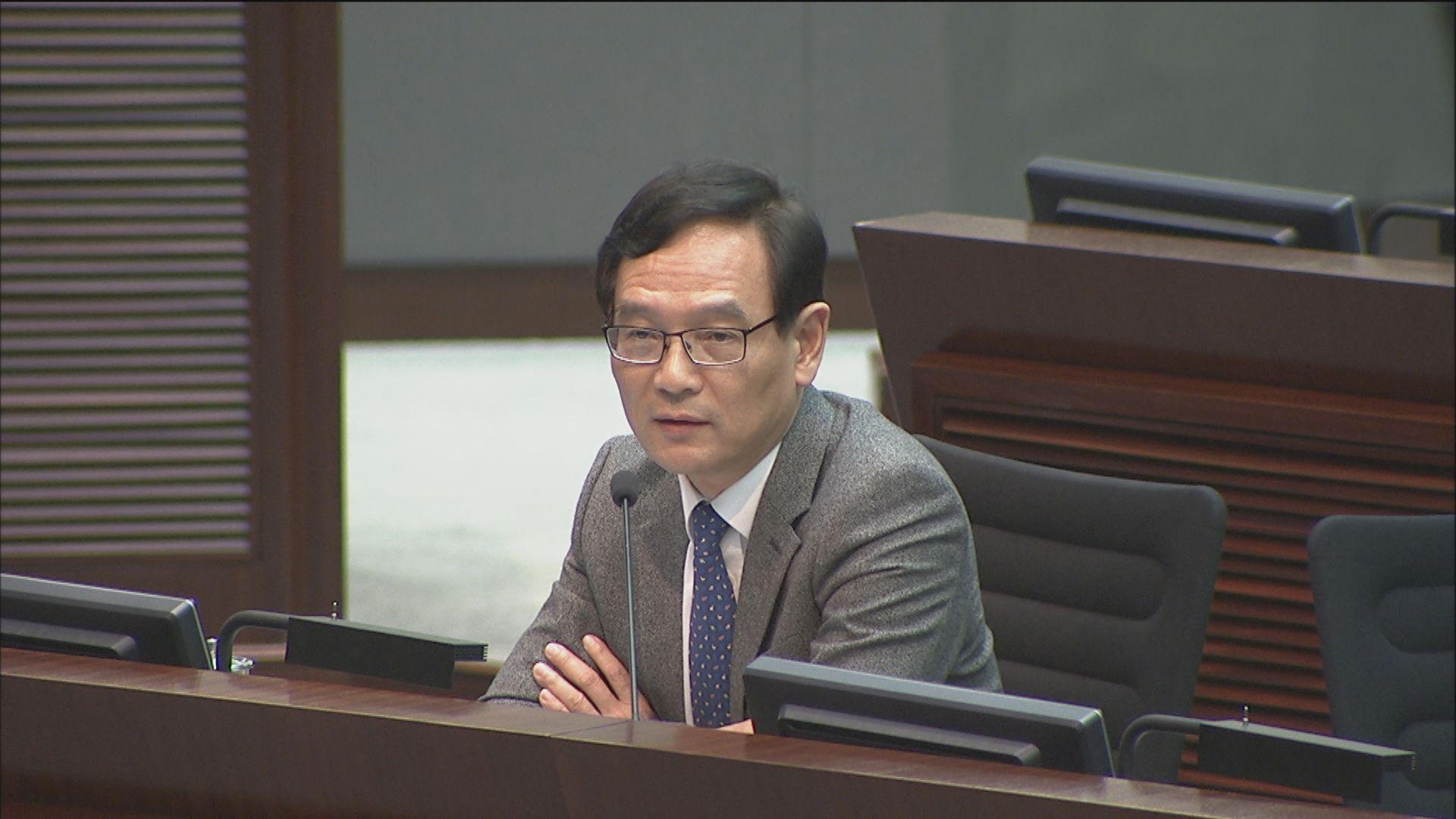 立會否決休會辯論朱凱廸被取消參選資格