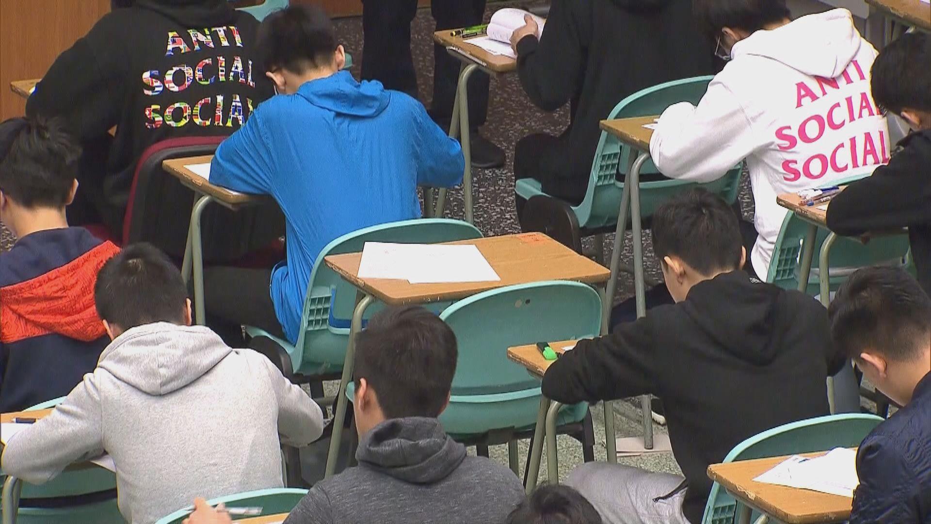 楊潤雄:若有考生確診 同場考生未必要全部強制隔離