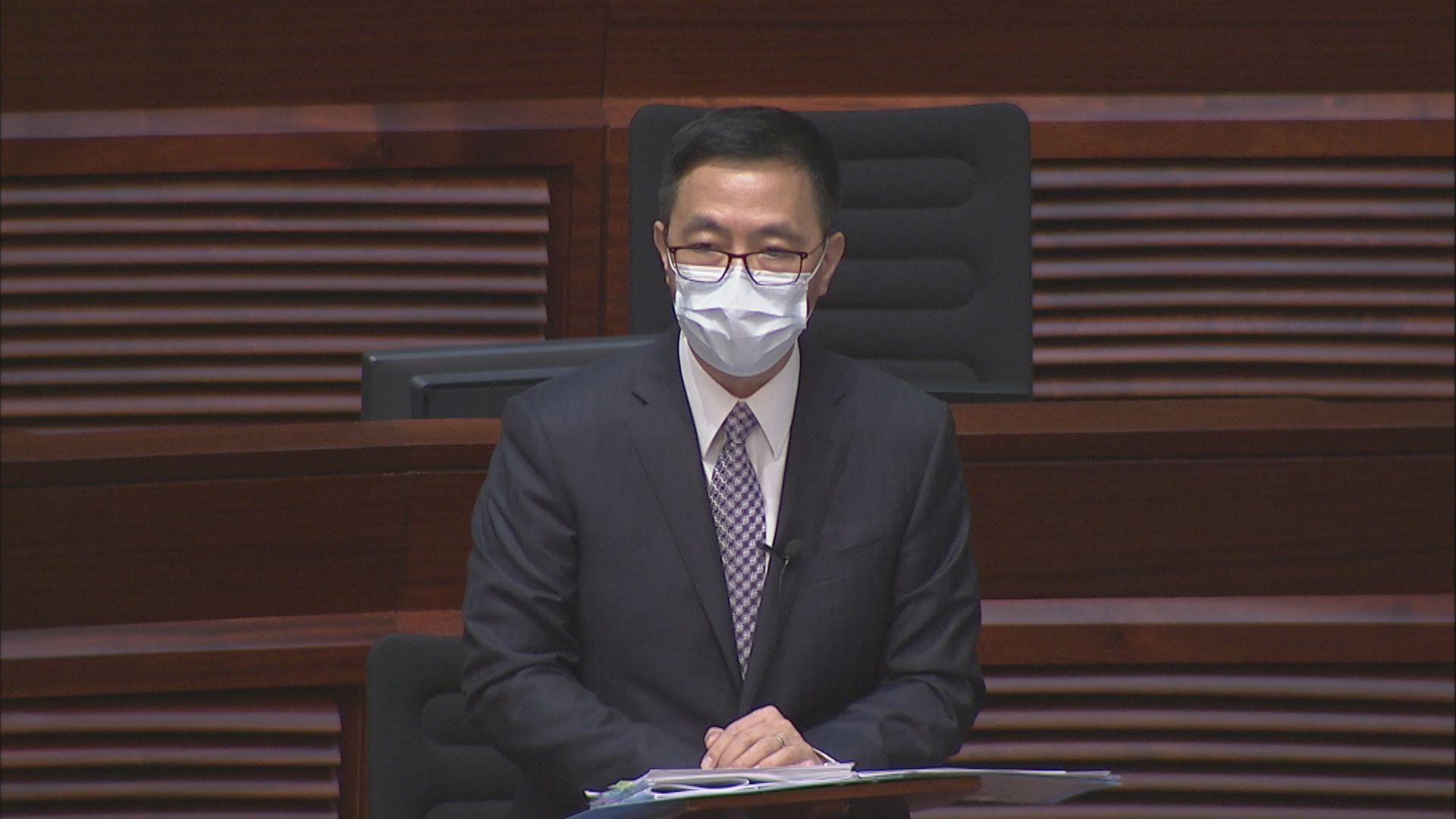 楊潤雄:約百名教師反修例示威中被捕