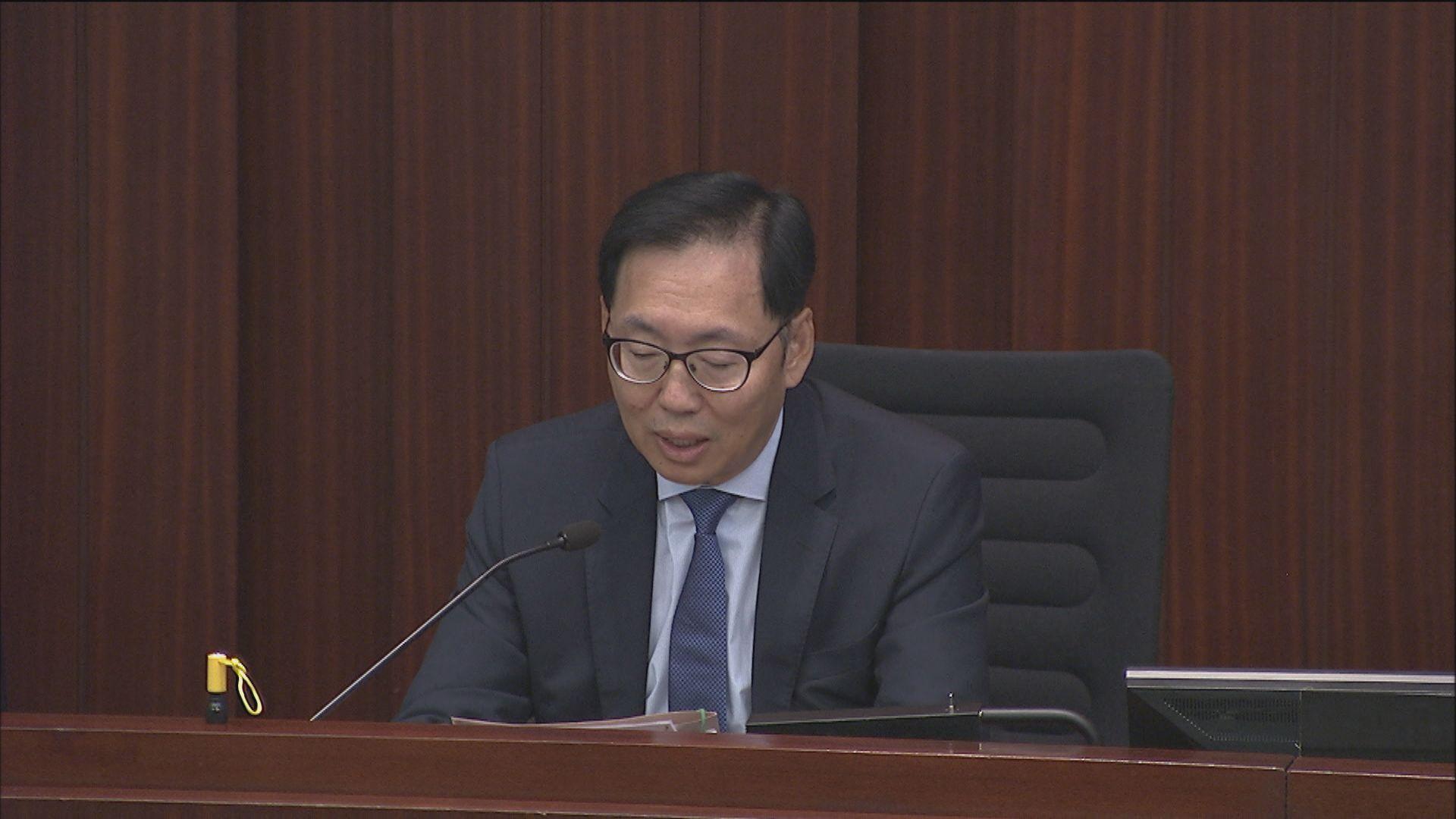 陳健波及陳振英任財委會正副主席