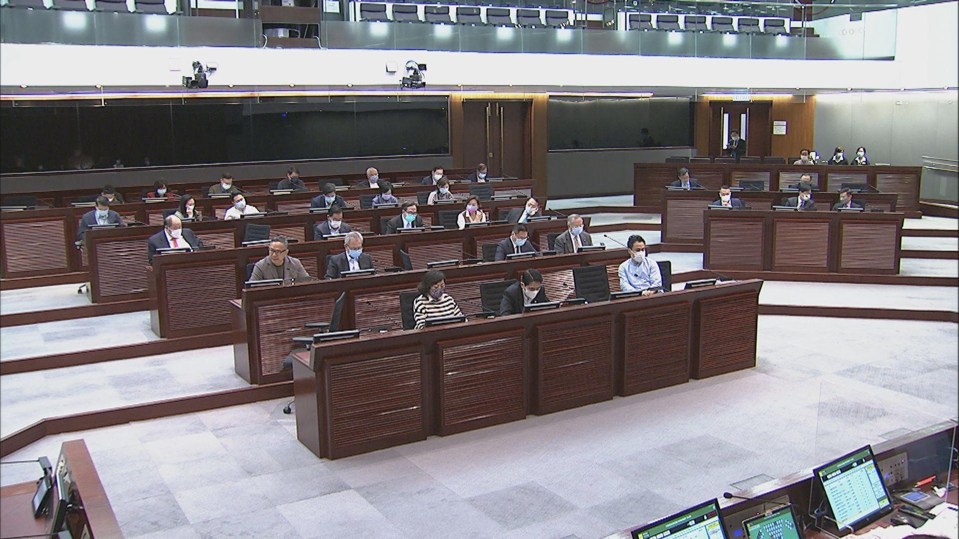 立法會內會通過成立小組委員會討論修改選舉制度