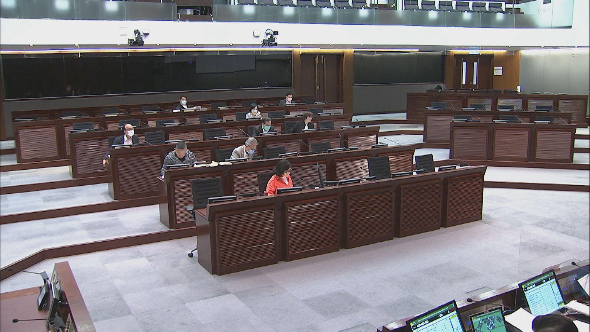 修改選舉制度條例草案本月26日恢復二讀