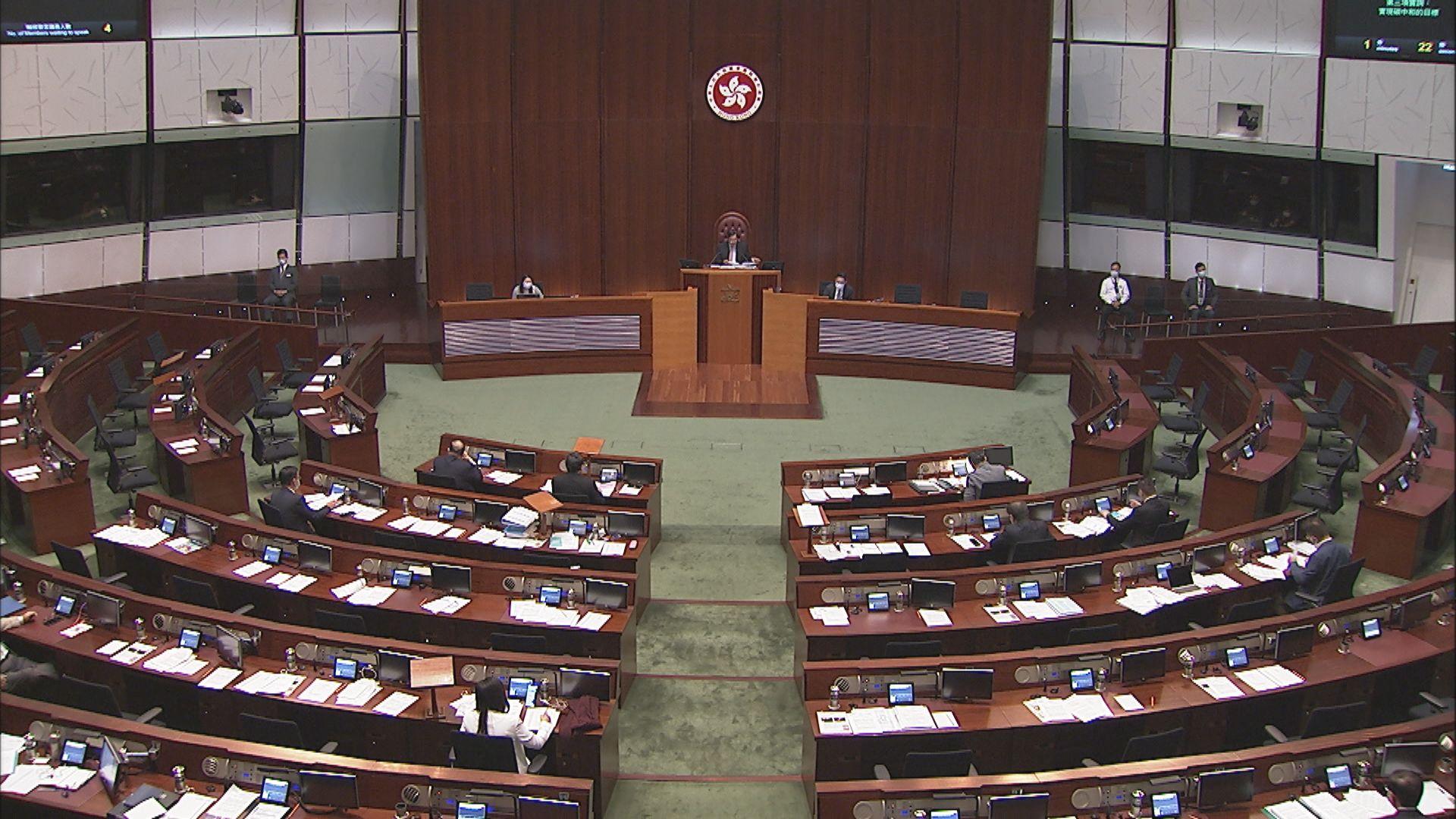 立法會二讀修改選舉制度條例草案 議員倡訂明標準確保參選人質素