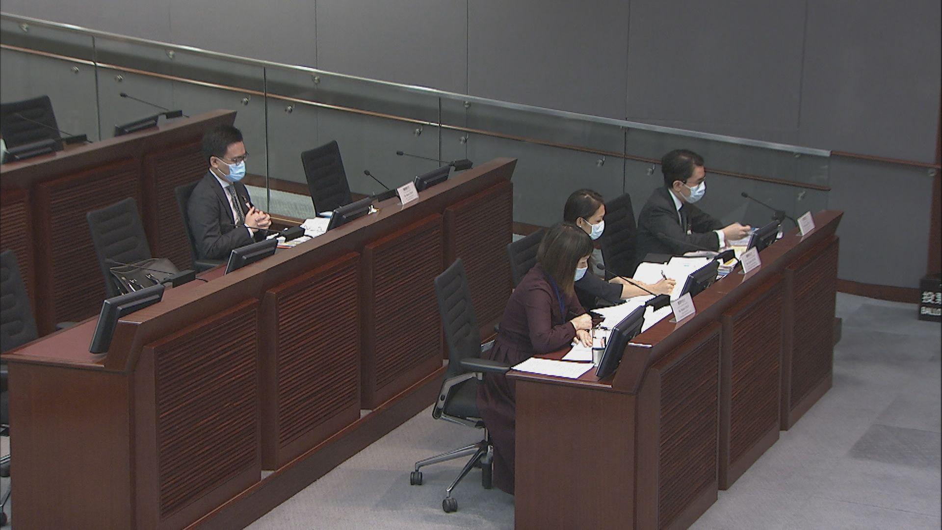 議員質疑立會選舉會否再延期 政府:仍以明年9月5日為目標