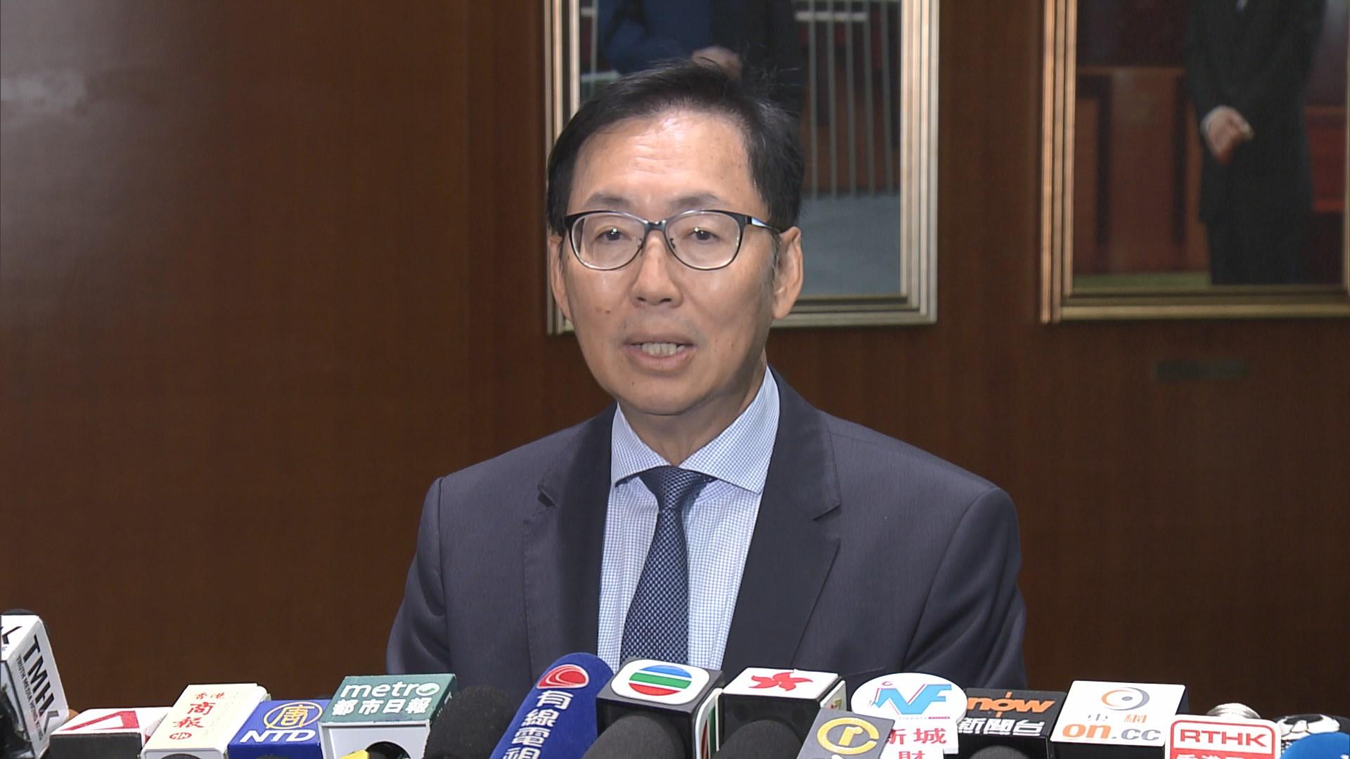 陳健波:若民主派允不搞事願向政府提抽起明日大嶼撥款