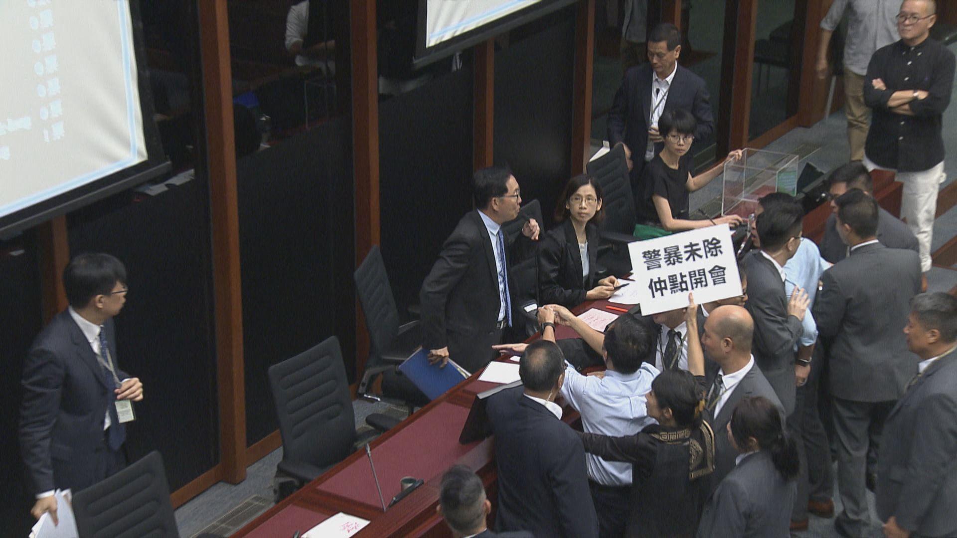 陳健波連任立法會財委會主席