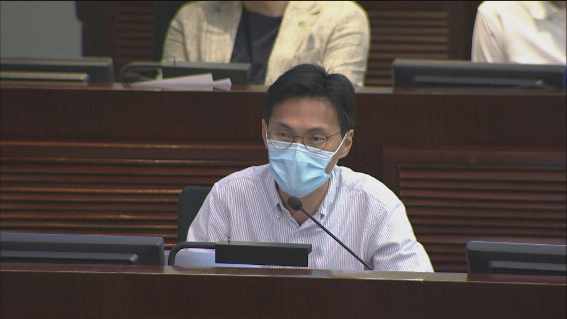 次輪防疫基金撥款 朱凱廸提中止待續議案要求修補漏洞