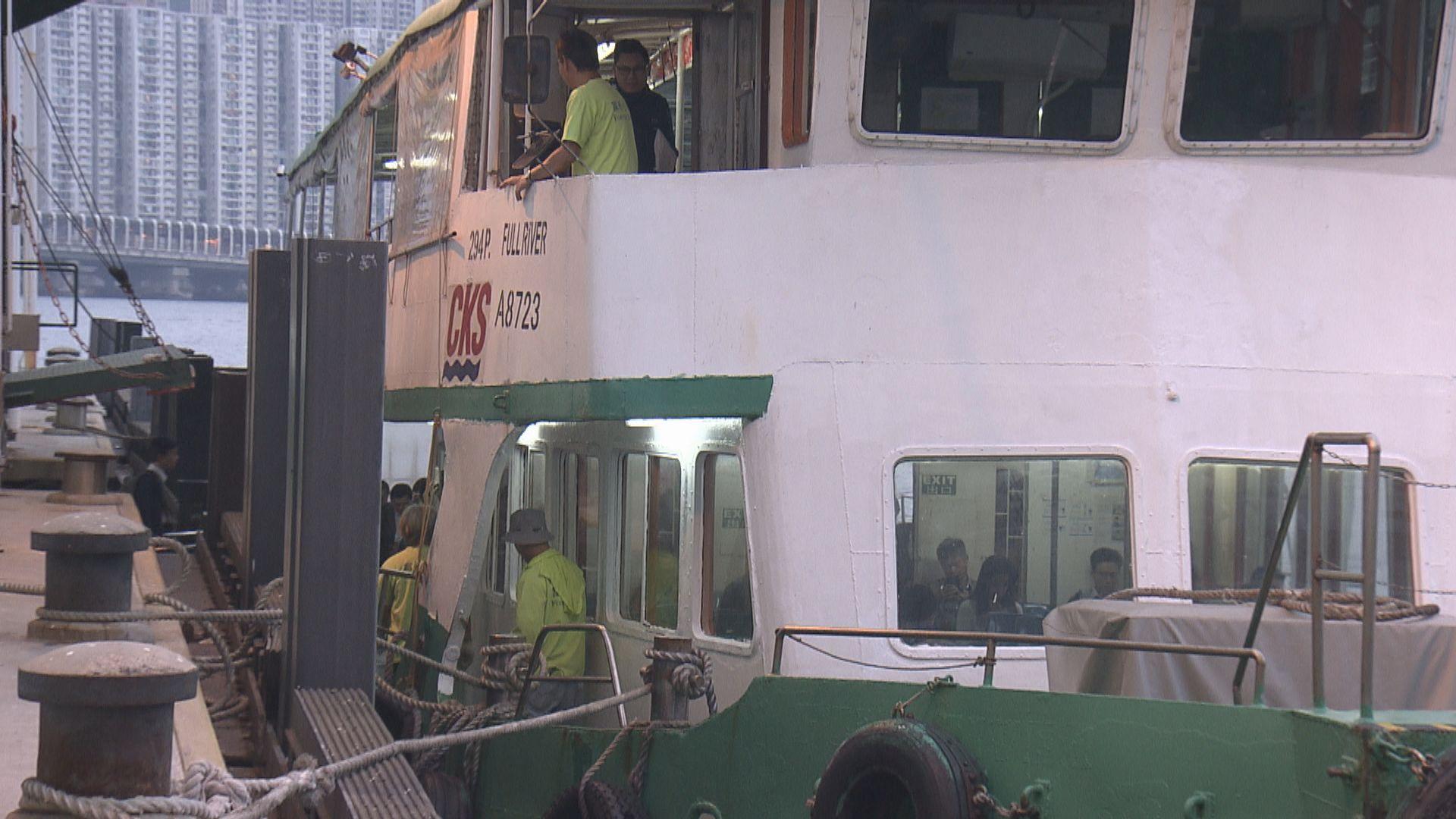 政府上月提供免費渡輪涉245萬元開支