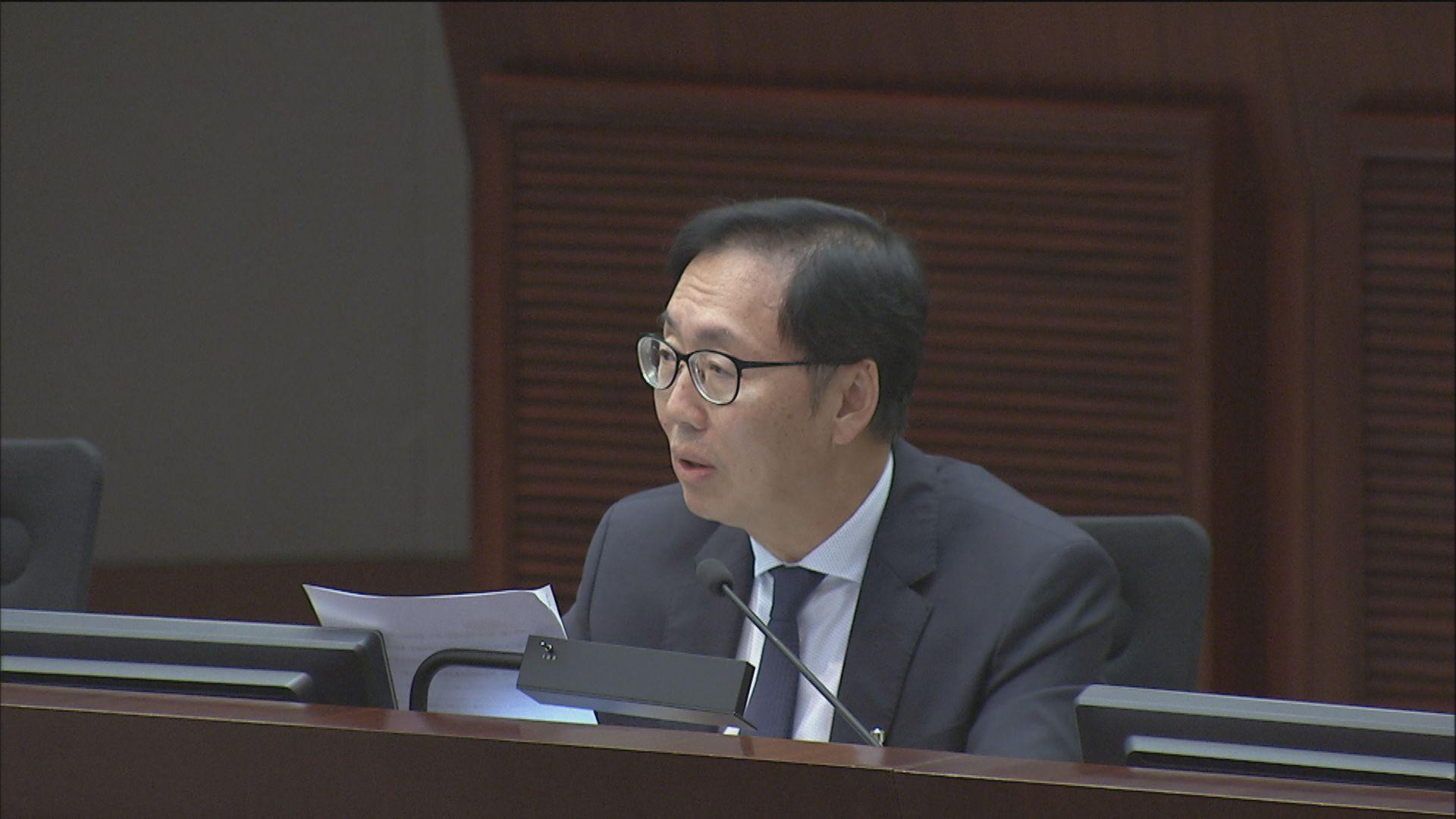 財委會否決對主席陳健波不信任動議
