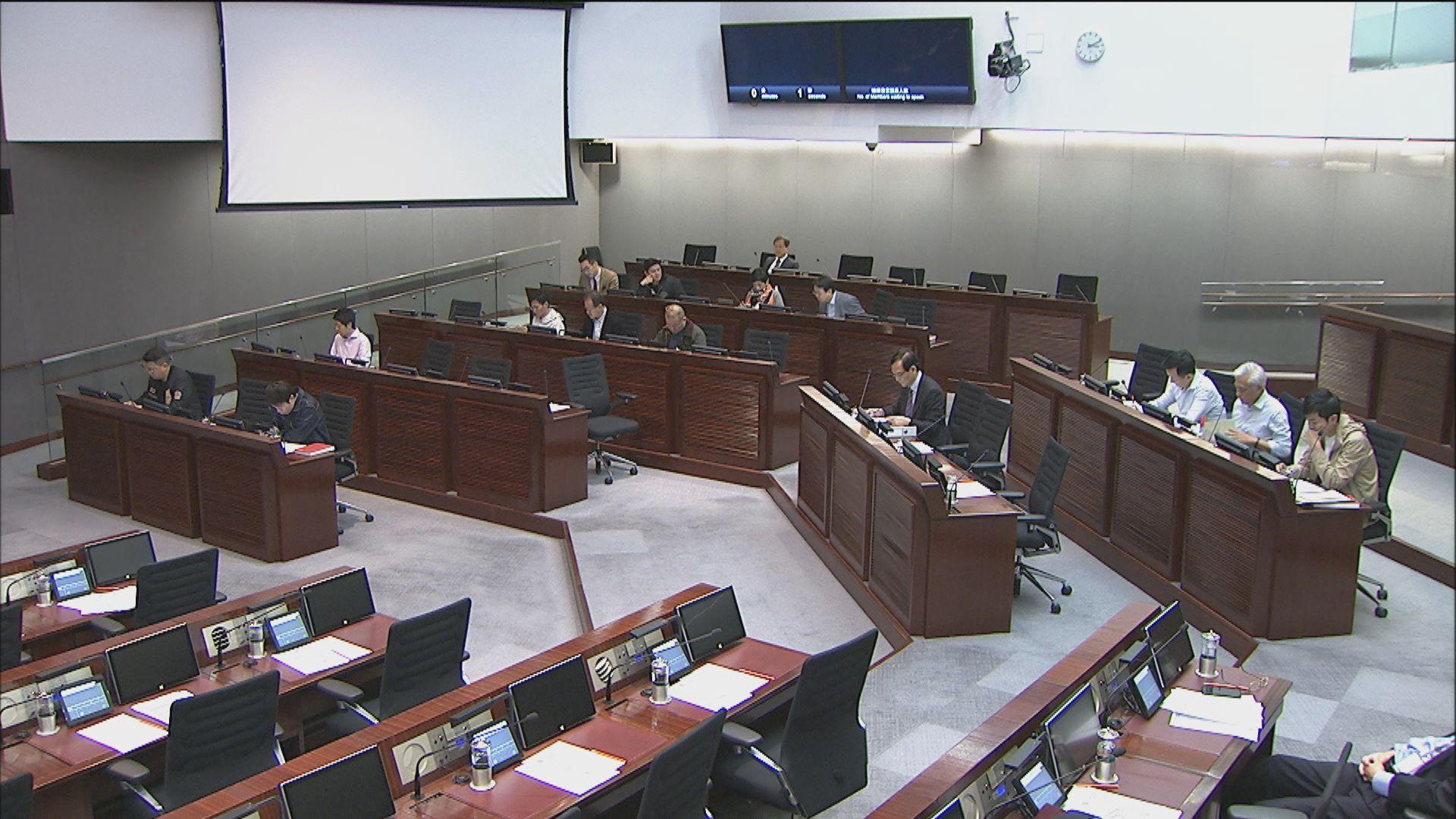 財委會六小時會議未就公務員加薪表決