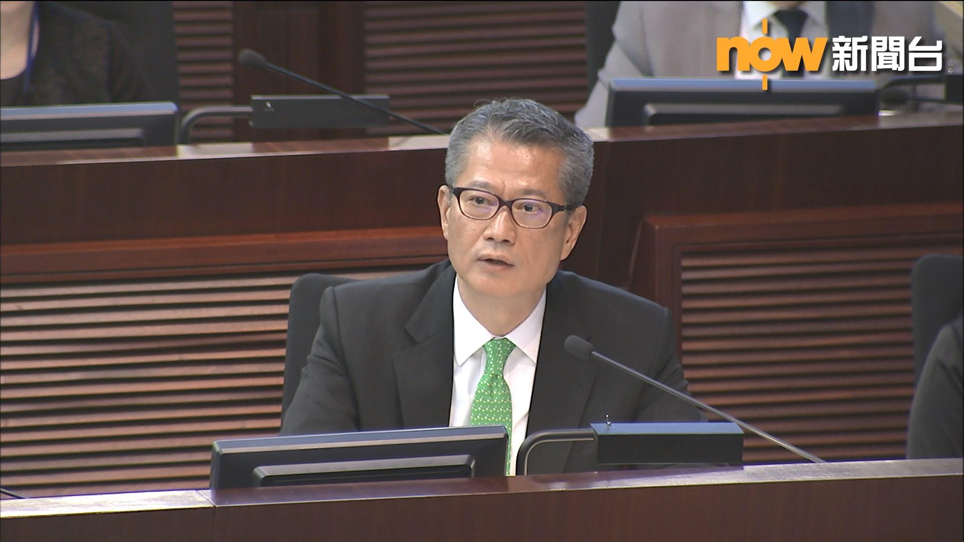 有議員倡派錢 陳茂波:不會再推同類措施