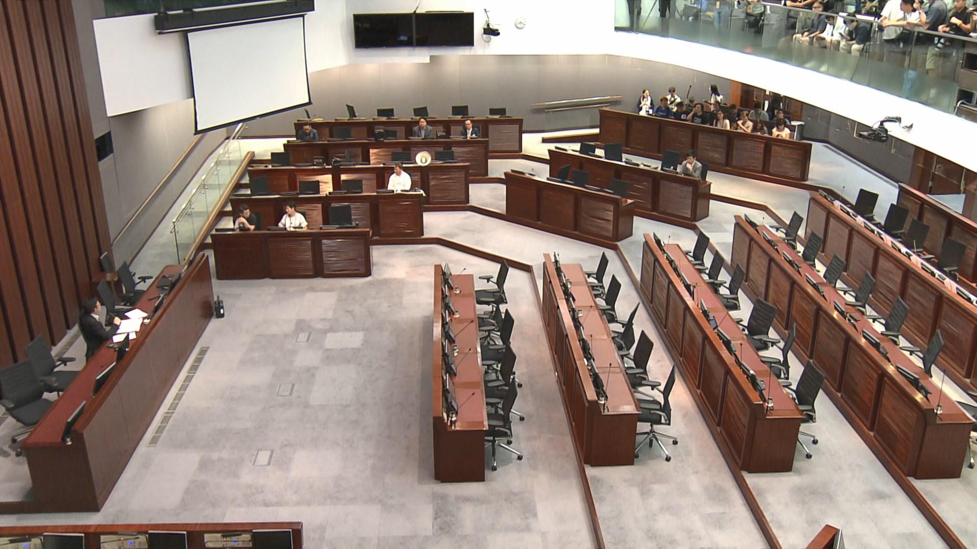 立法會逃犯條例草案委員會再開會