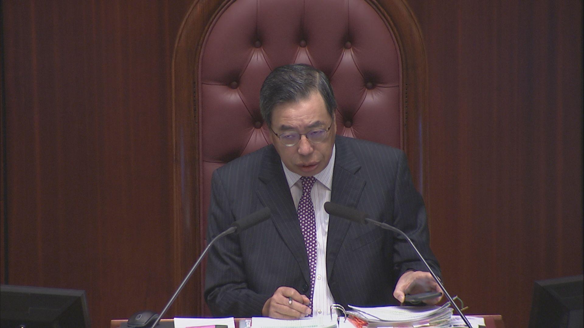 梁君彥拒在立法會公開向夏寶龍表達的國安法意見