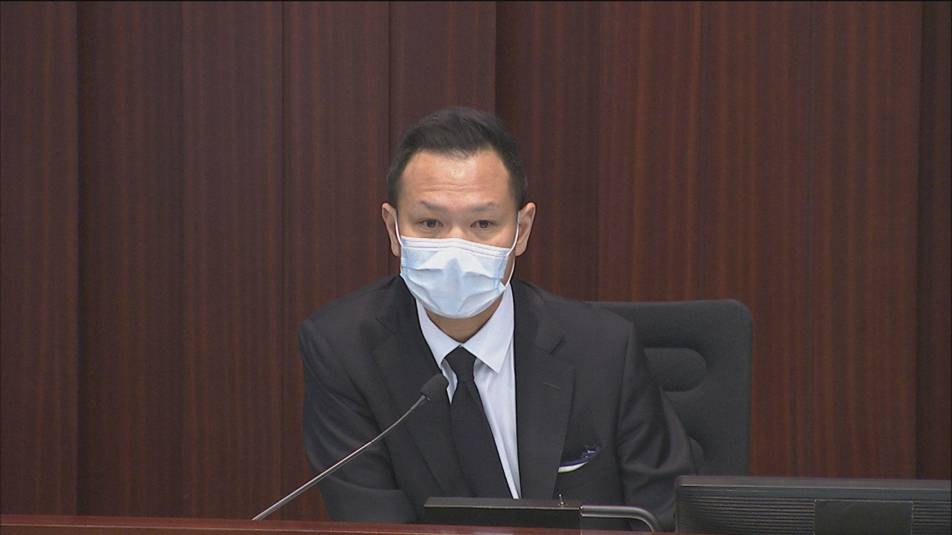 立法會內會再開會選主席 建制批郭榮鏗拖延