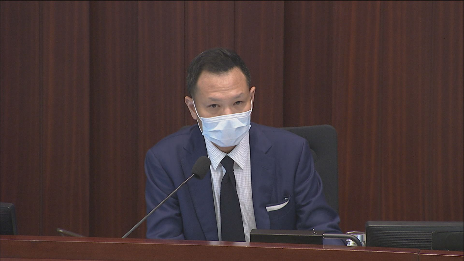 郭榮鏗裁決下午內會須繼續主席選舉