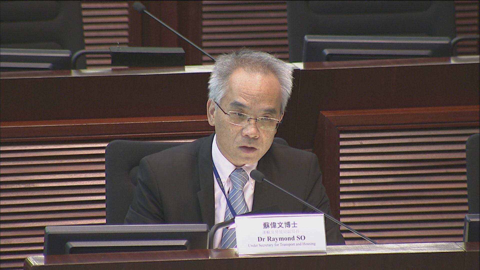 蘇偉文:政府將更積極參與建過渡房屋