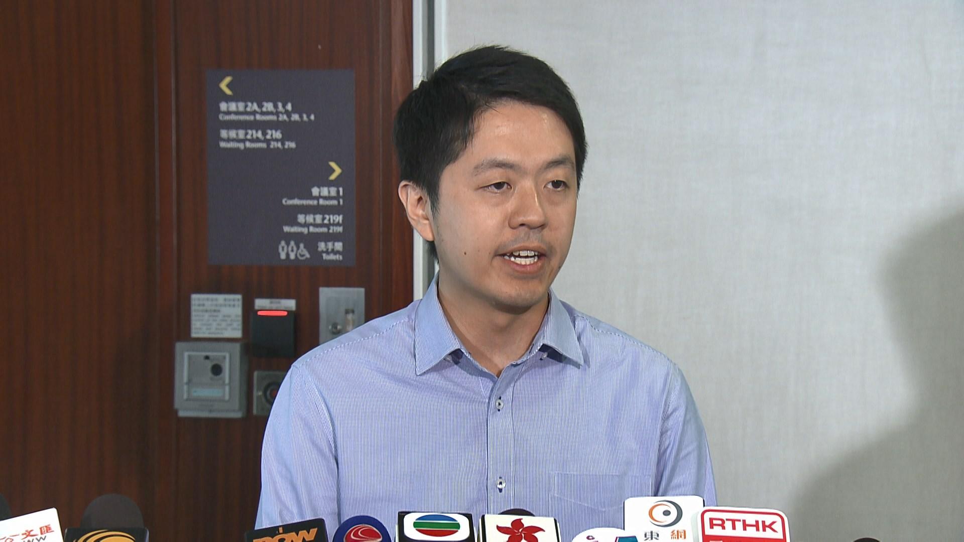 許智峯:抗議廖長江濫權就書面問題設限