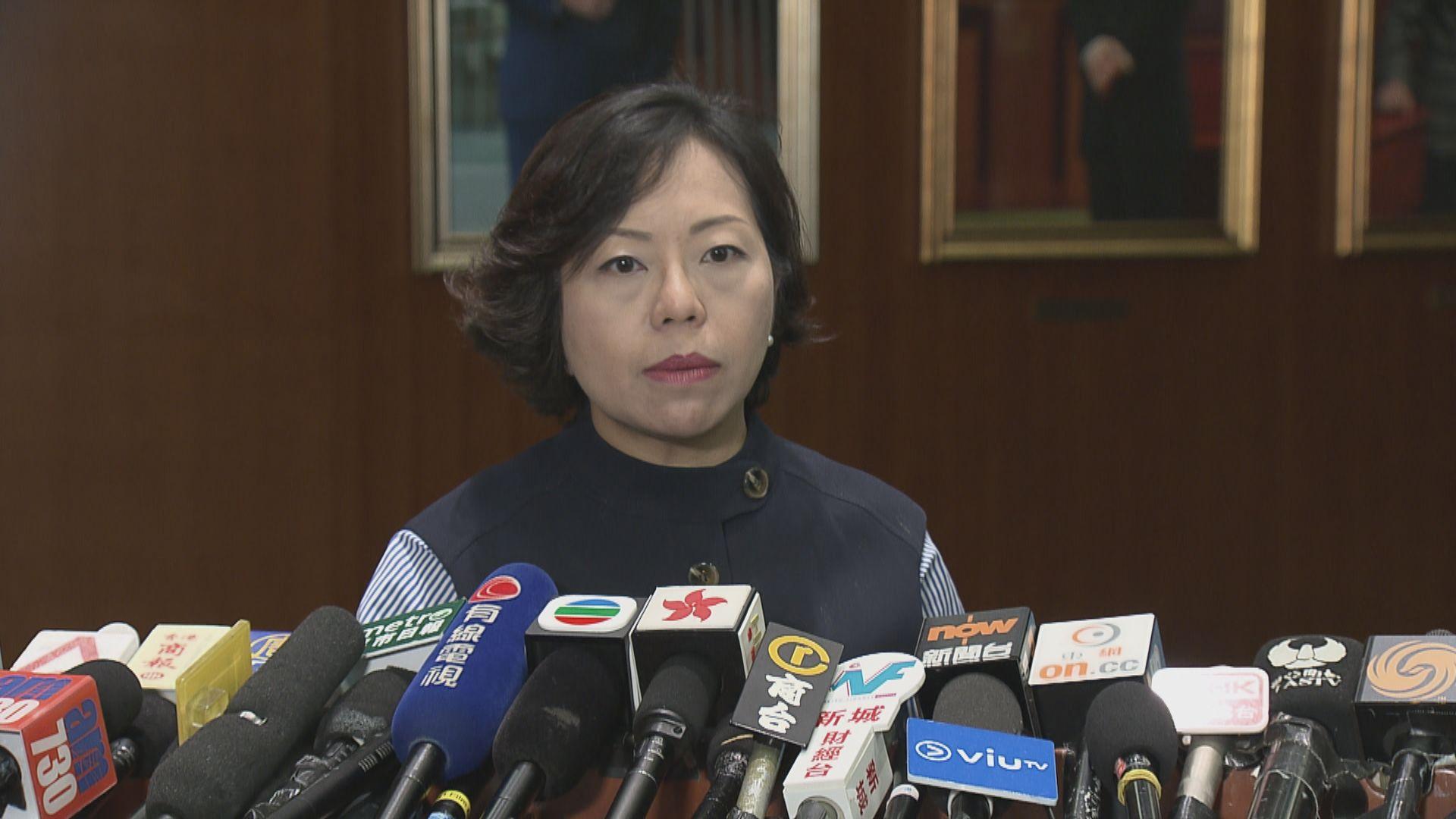 麥美娟:委員會將就許智峯搶手機案召研訊