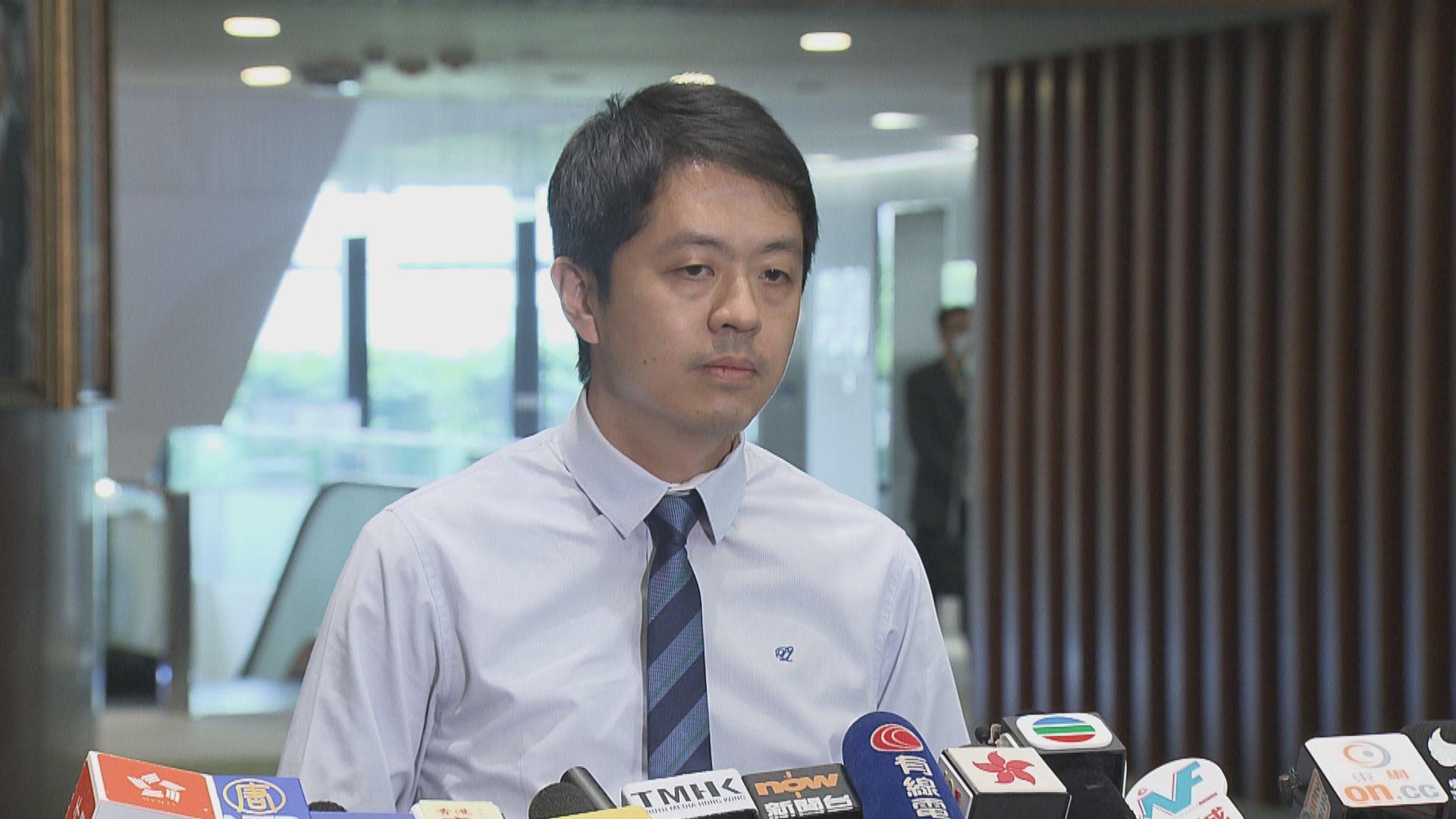 許智峯:交給其他議員處理譴責議案 公道自在人心