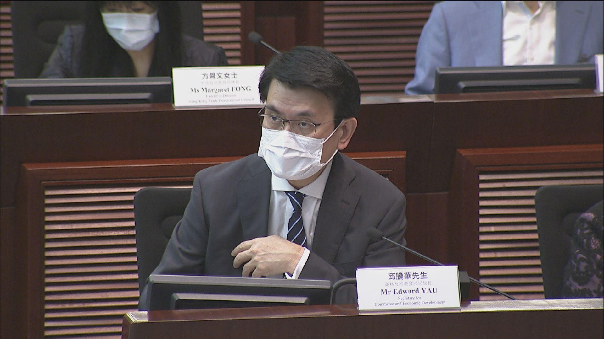 邱騰華:重開關口需衝量多方意見