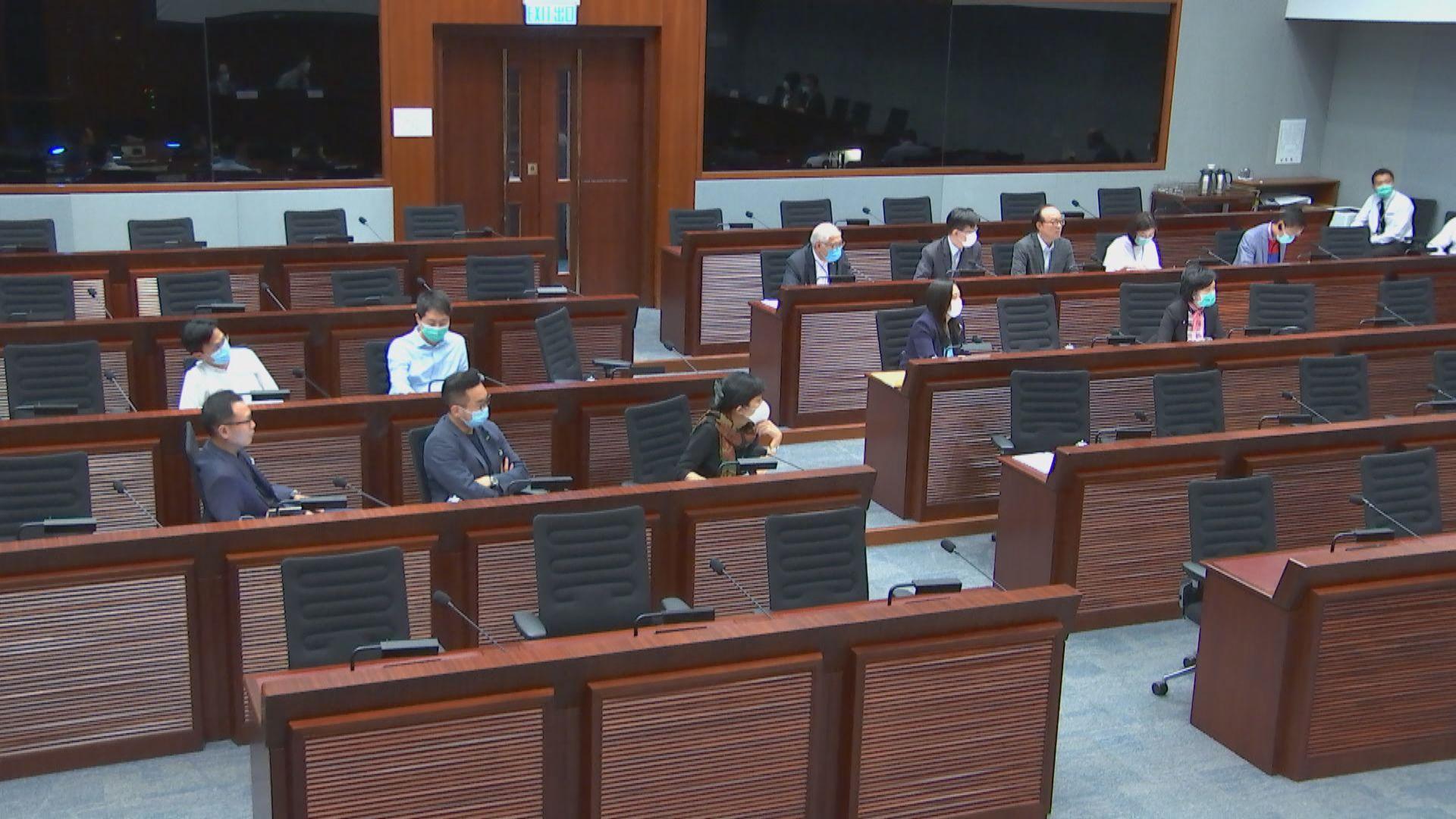 立法會討論港台管治問題