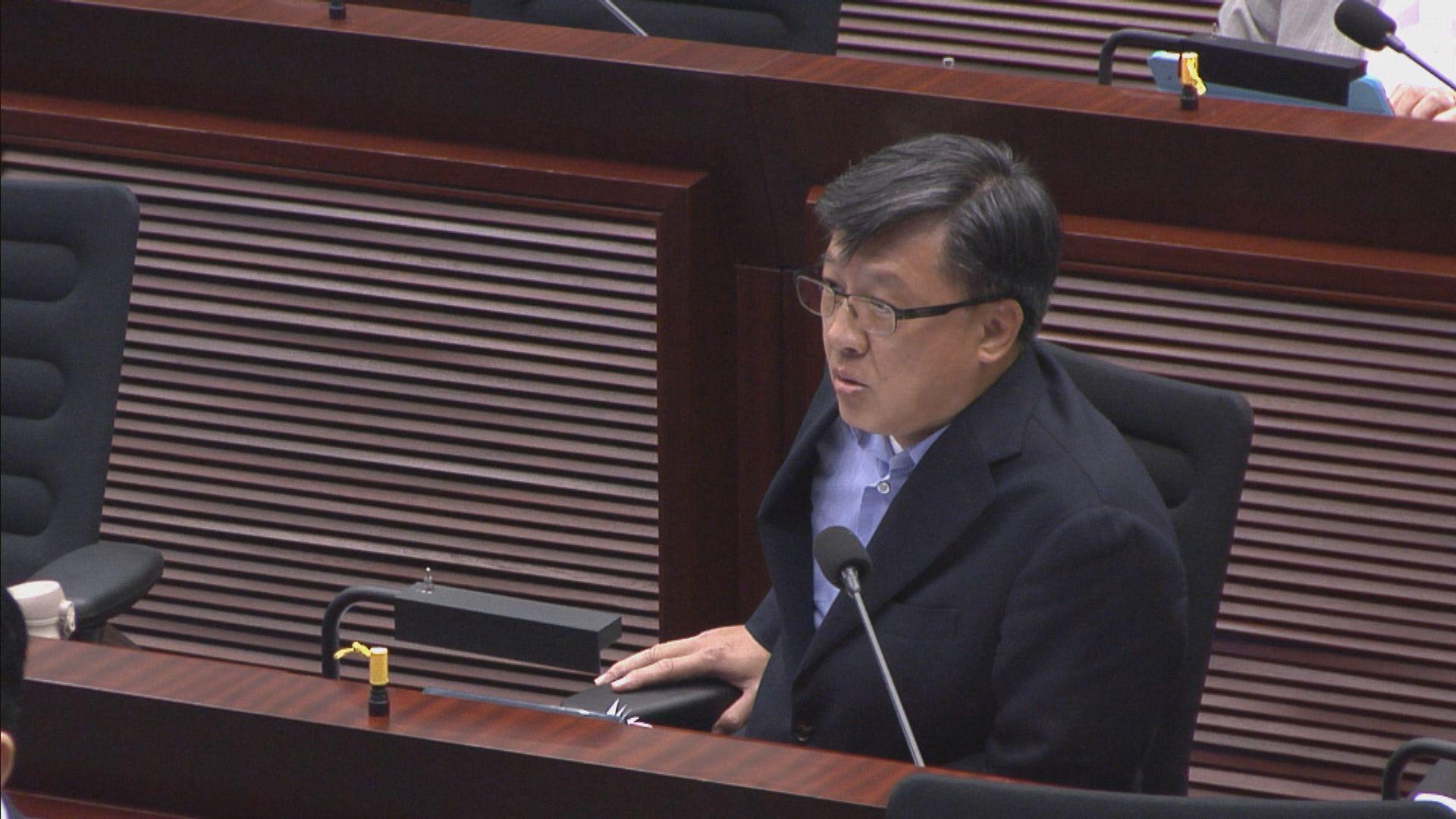 何君堯當選資訊科技委員會主席 民主派批非合適人選