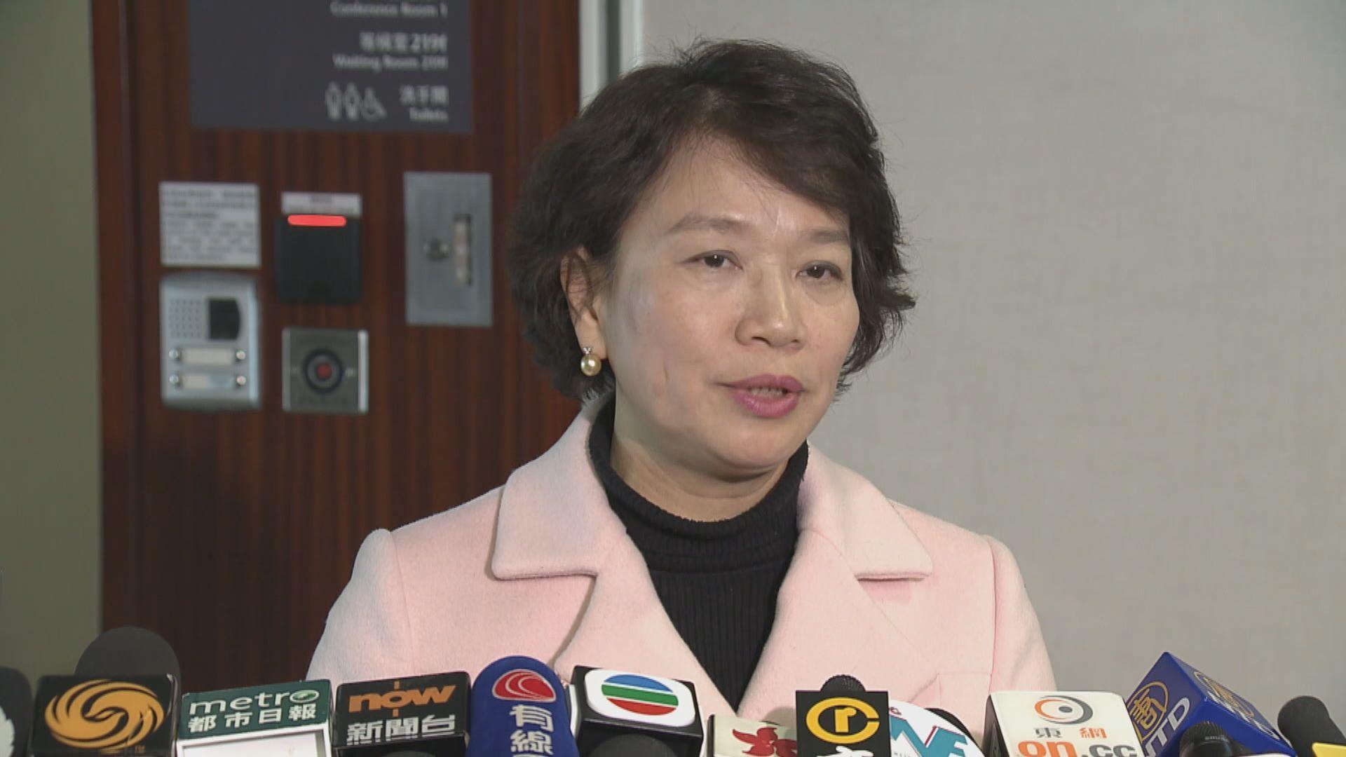 梁美芬:鄭若驊月底出席委員會解釋檢控政策