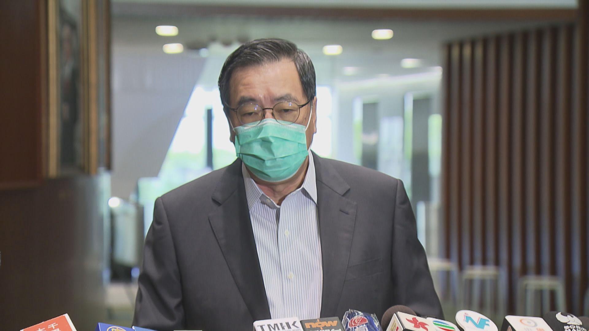 梁君彥:議員若違反誓言可引用基本法譴責及褫奪議員資格