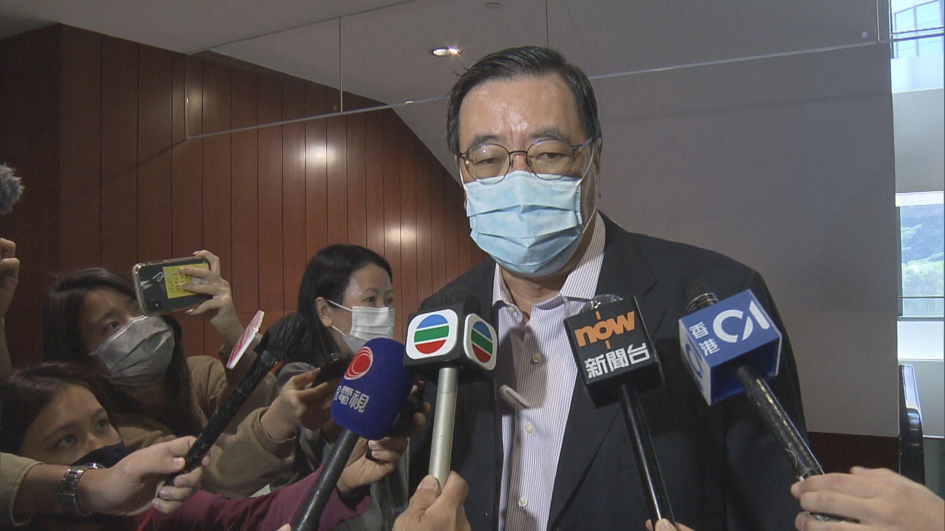梁君彥:行管會未商被撤銷資格議員薪津問題