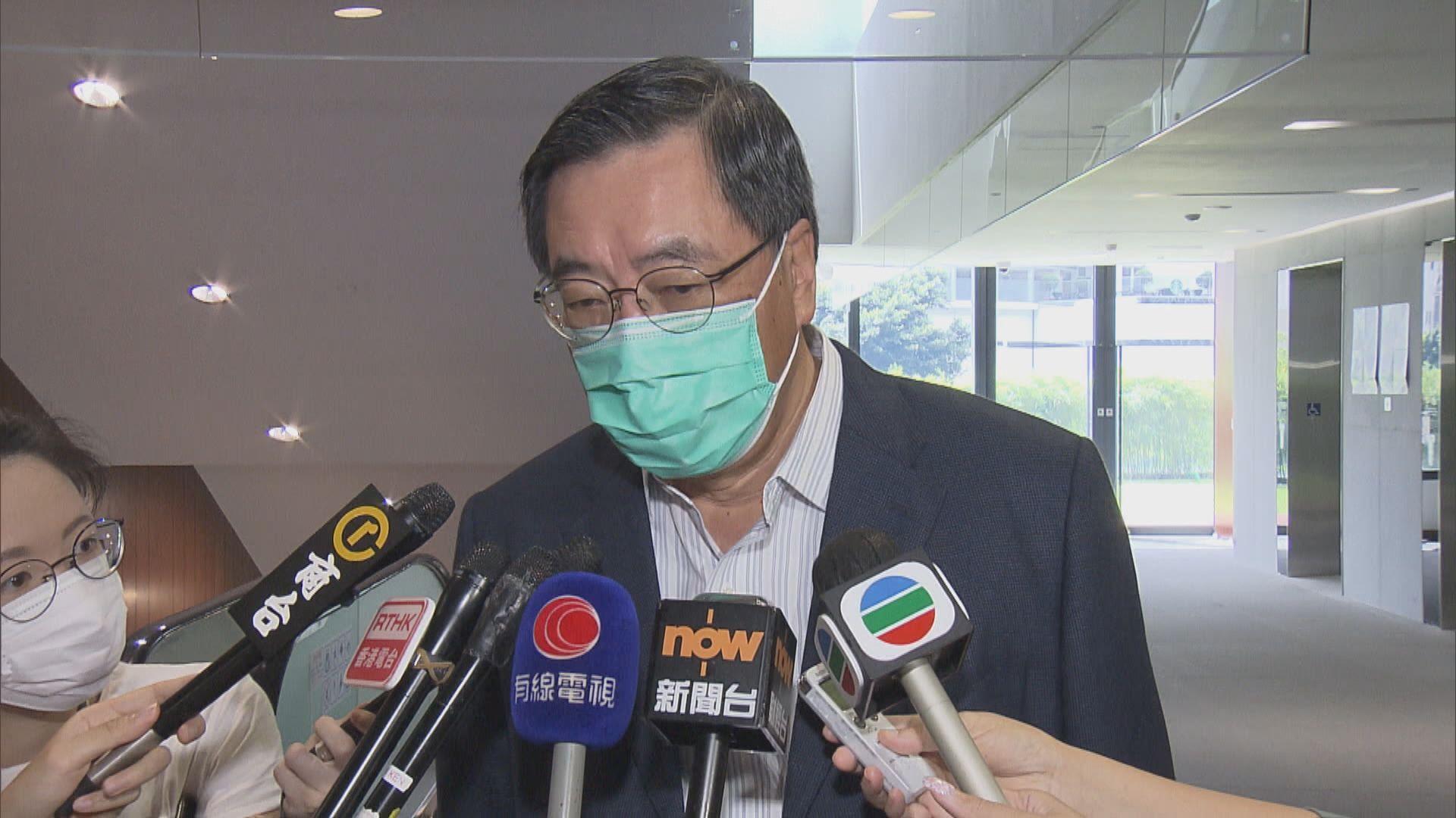 梁君彥:以私人身分向夏寶龍表達不同黨派及社會對國安法意見
