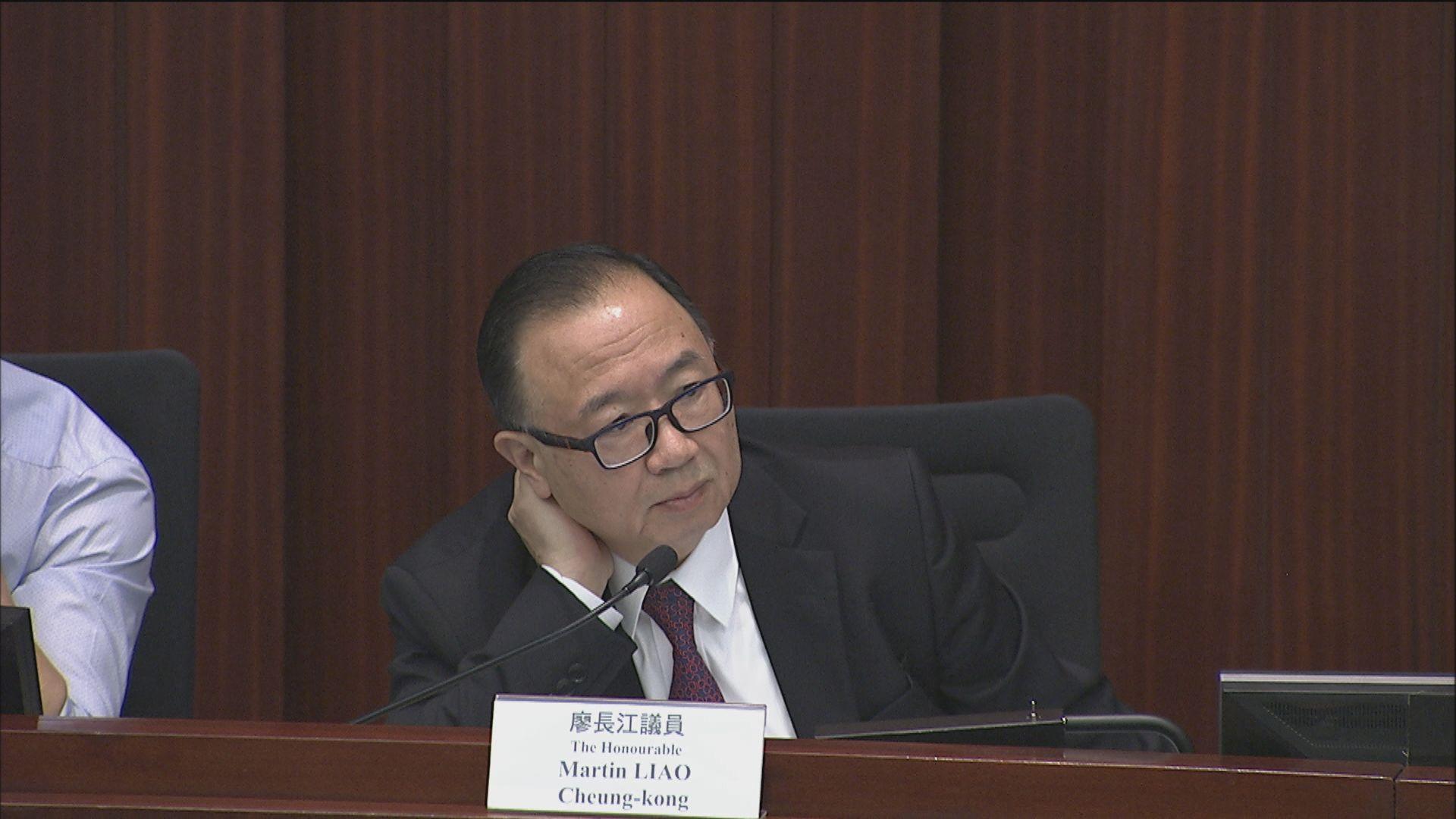 會議臨時提早召開 廖長江再遭民主派質疑