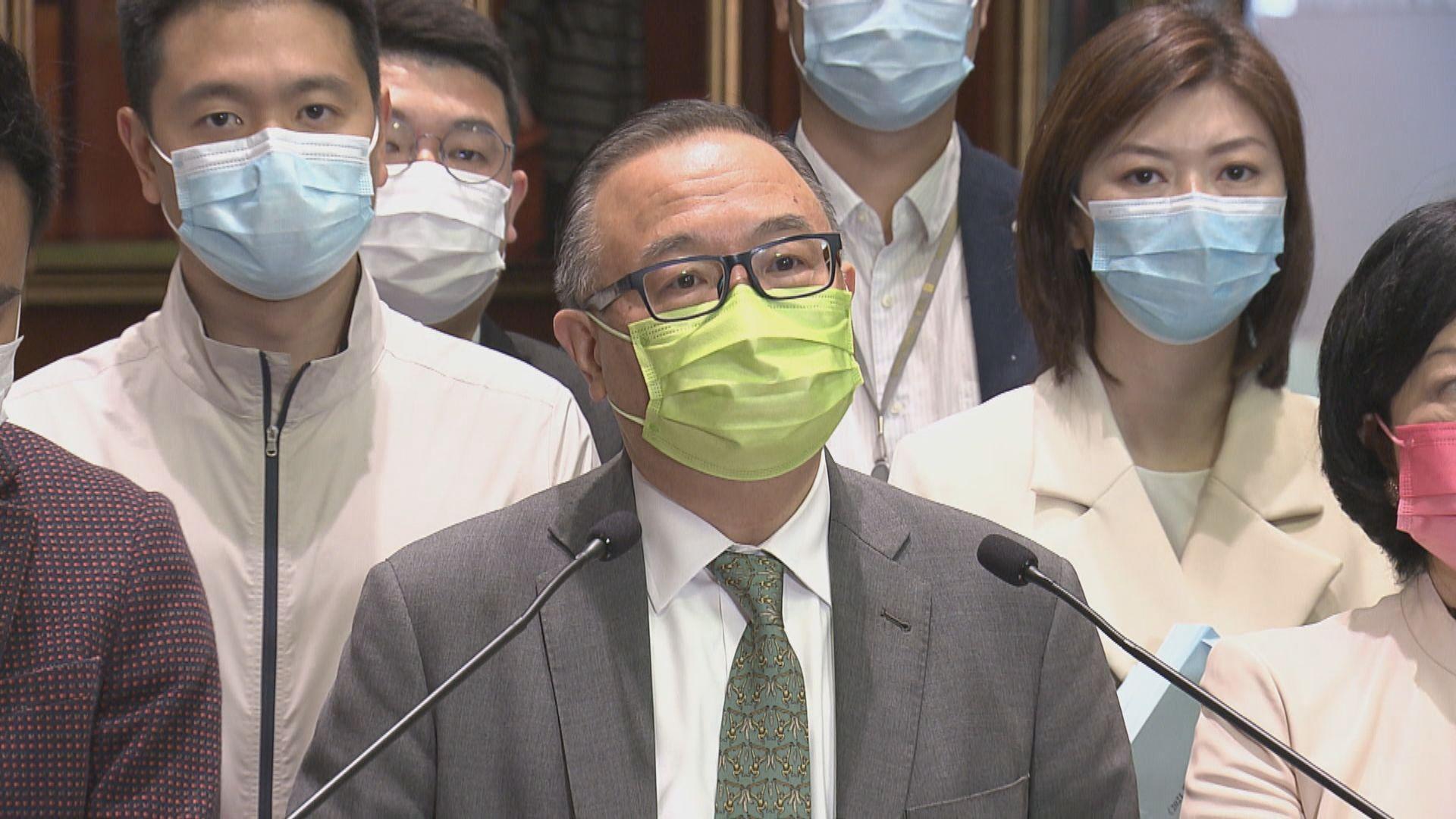 廖長江:審議選舉修訂條例草案工作緊逼 望下月底前通過