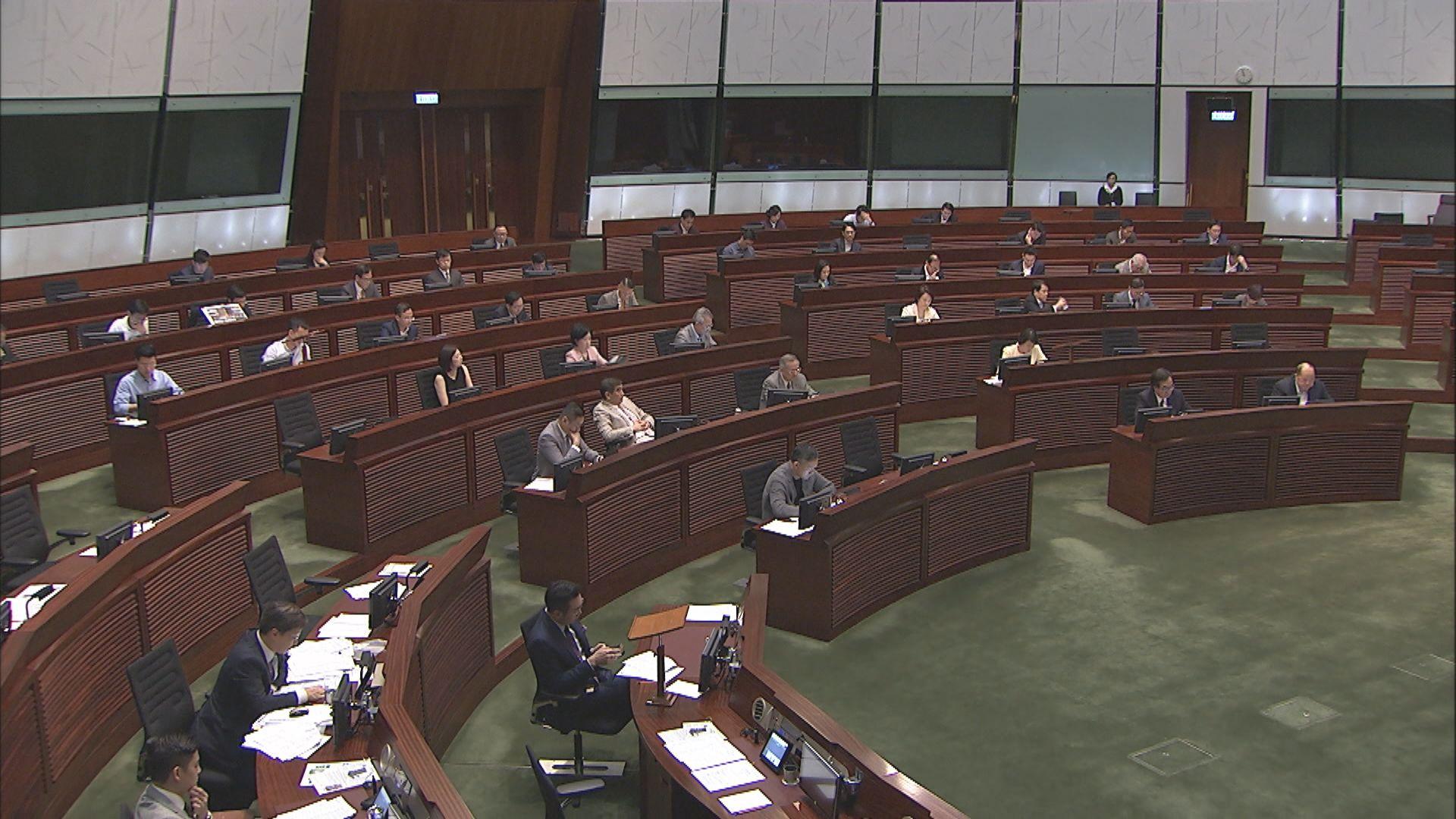 立法會繼續審議財政預算案 料今天表決