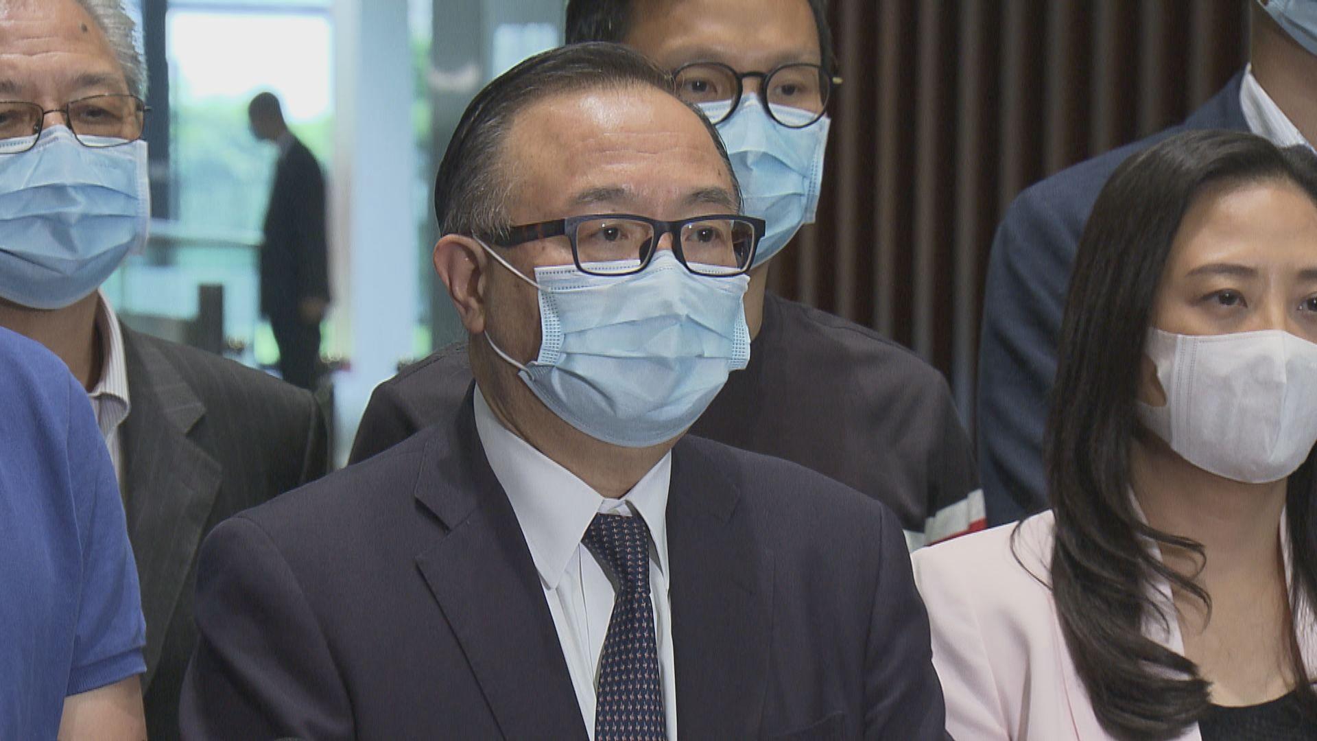 朱凱廸陳志全會議期間淋潑液體 建制派譴責