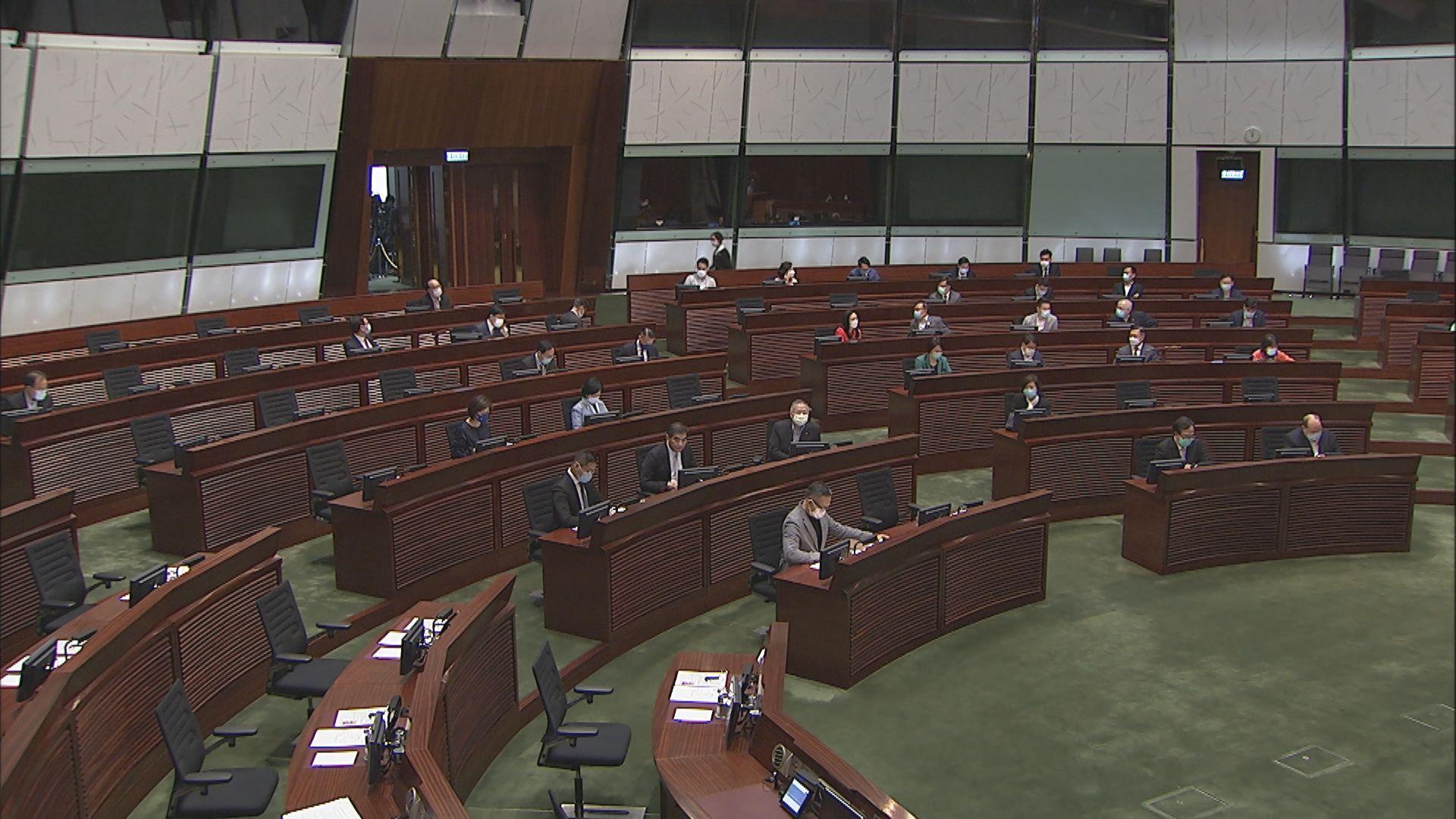 第六屆立法會延長任期後首次恢復大會