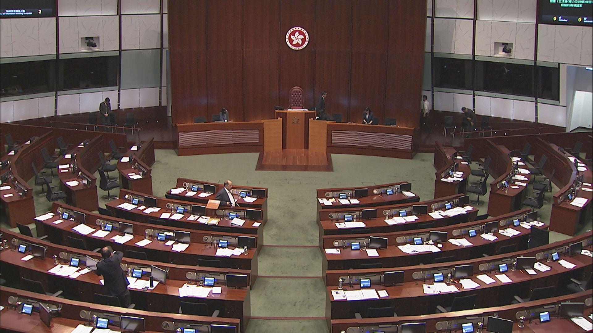 引用特權法調查沙中綫議案未能在休會前表決