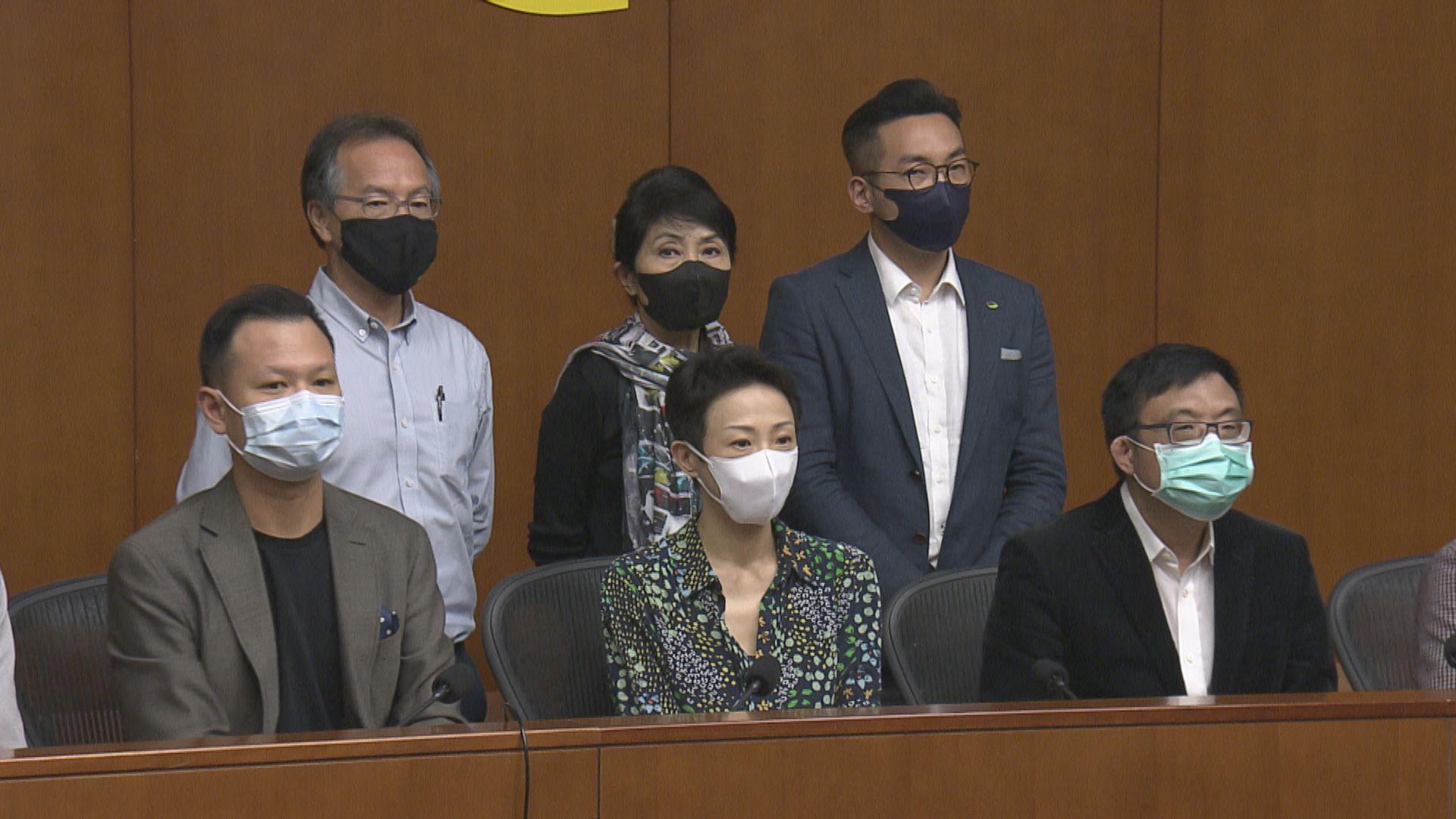 梁君彥冀官員到立會解說港區國安法 民主派批立法過程無諮詢
