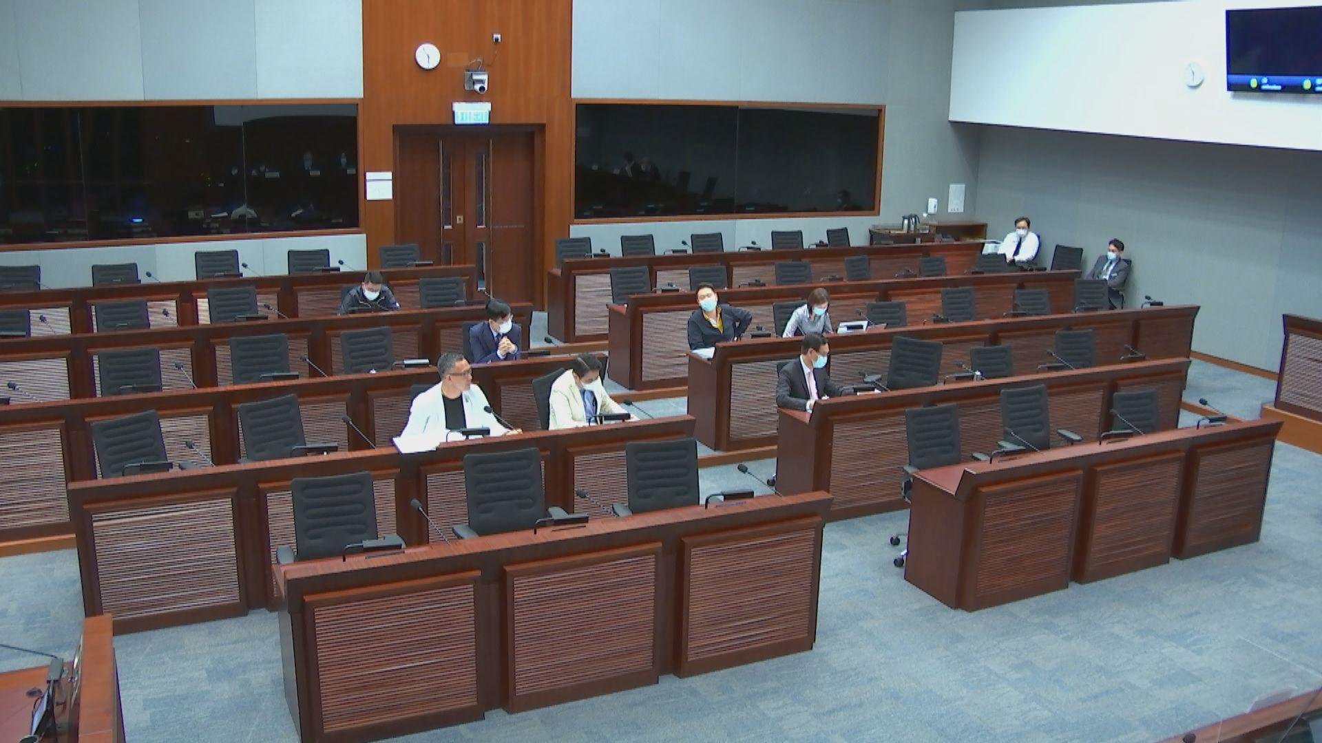 政府指因違誓被暫停職務者 不能行使議員權力