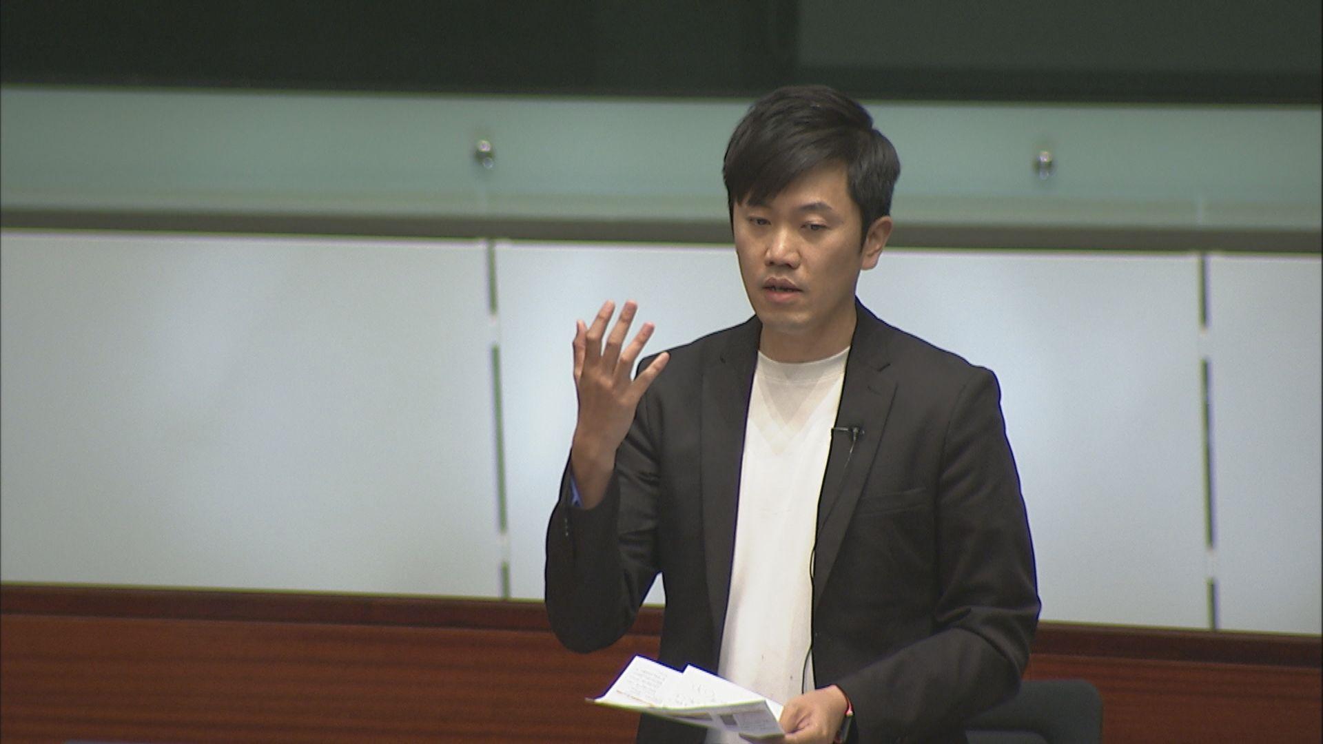 立法會通過區議員宣誓修例 鄭松泰一票反對