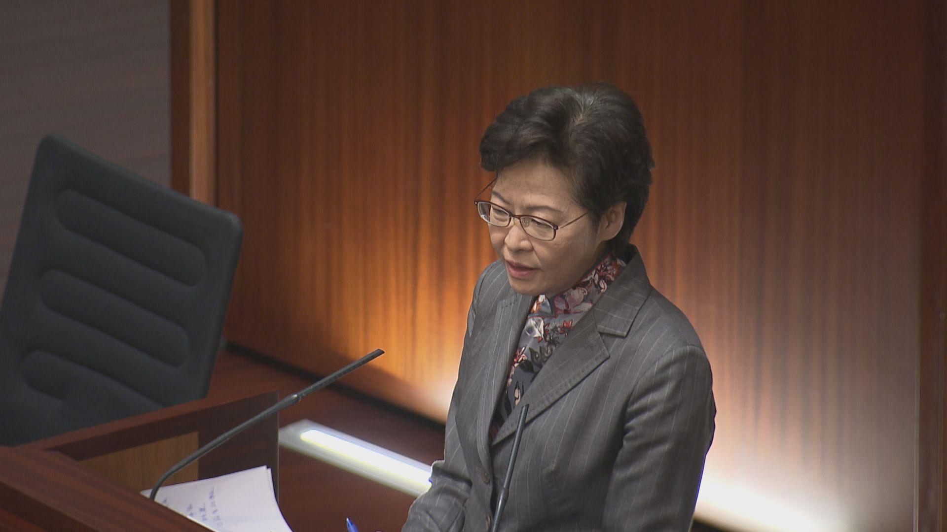 林鄭承諾每月到立法會 跟進議題30日內有回應