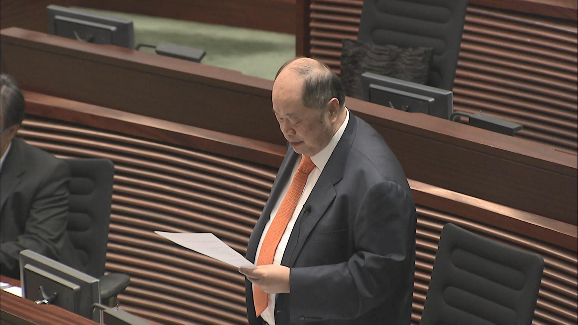 張華峰提休會待續議案獲梁君彥接納