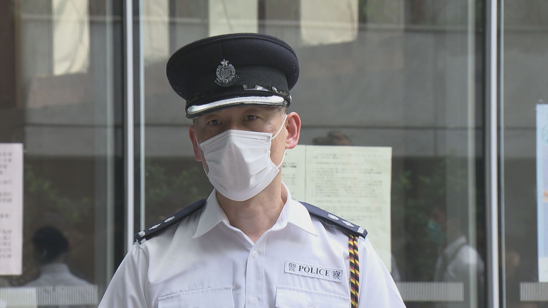 朱凱廸會議期間淋潑液體 警方稱不排除拘捕