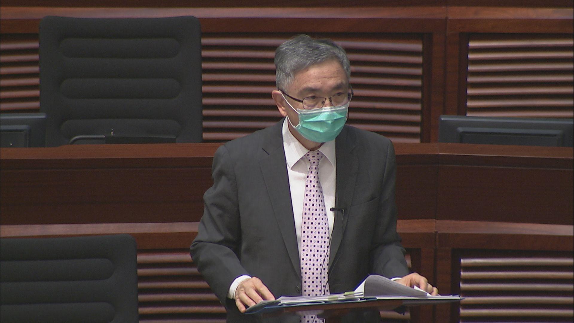劉怡翔於立法會答非所問要議員重覆提問