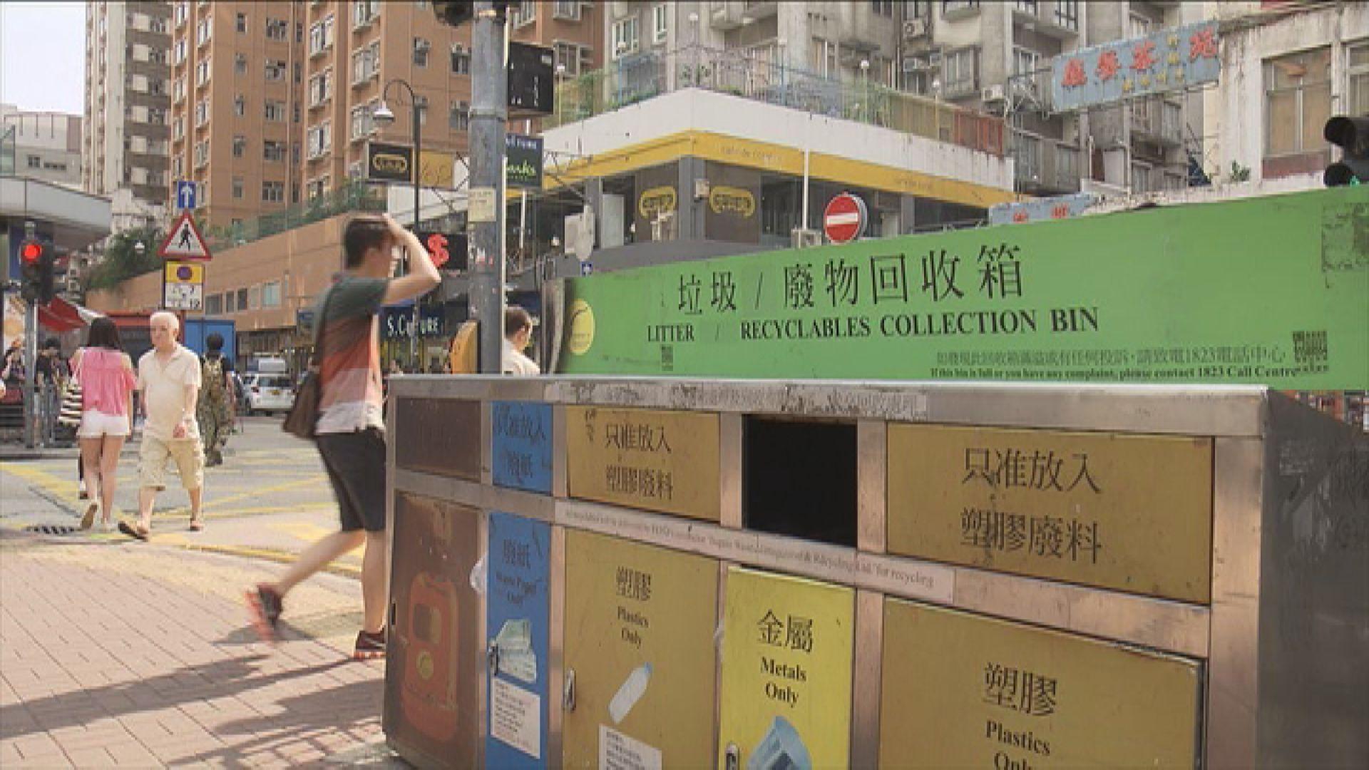 環境局稱難評估垃圾收費的減廢成效