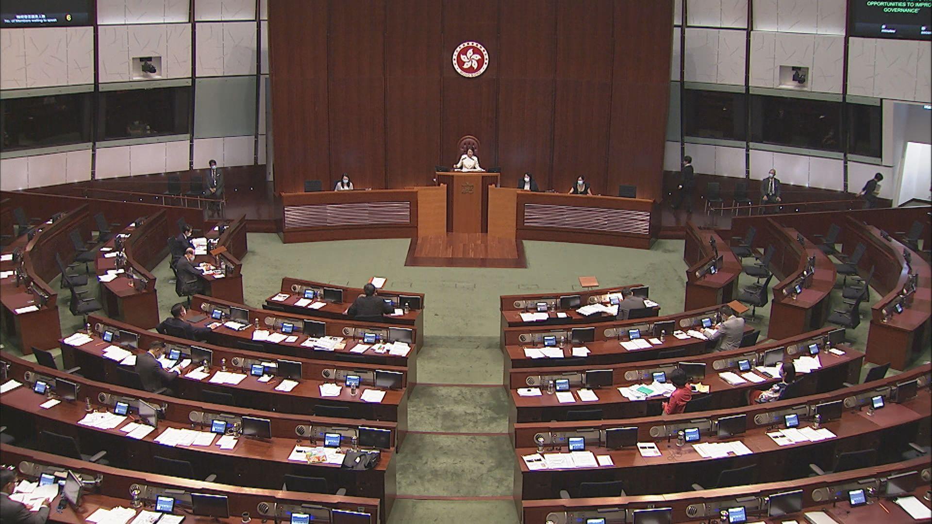 委員會研究再修改議事規則 流會時缺席議員要罰款